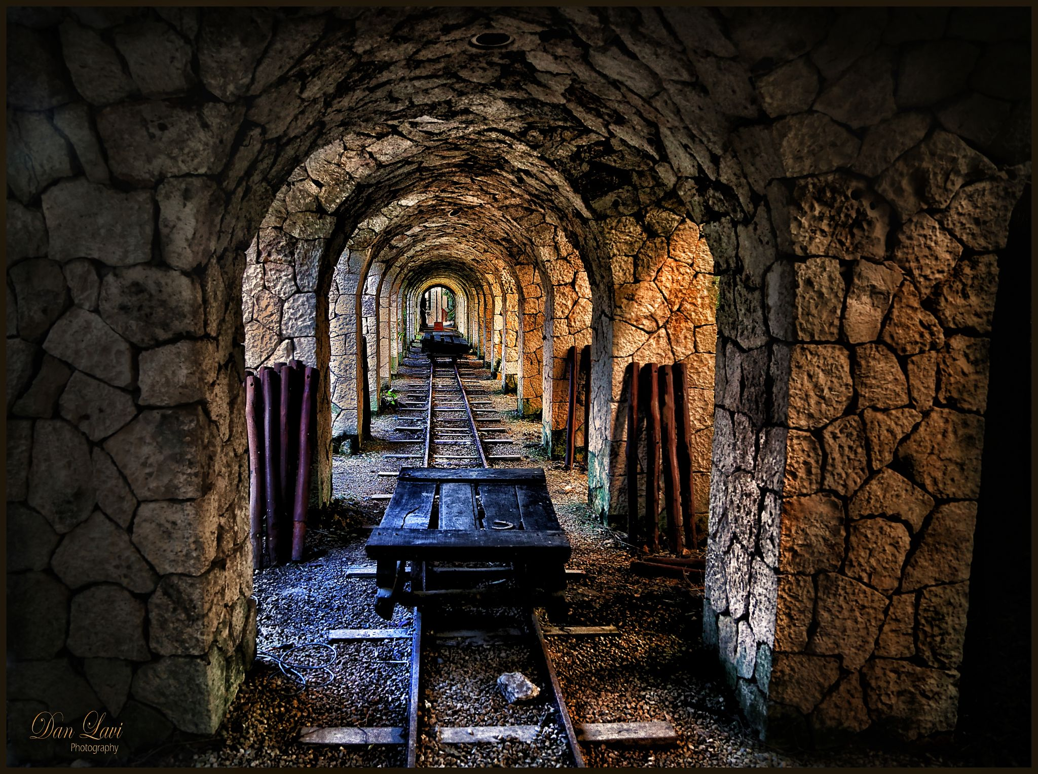 End f the tunnel  by Dani_Lavi