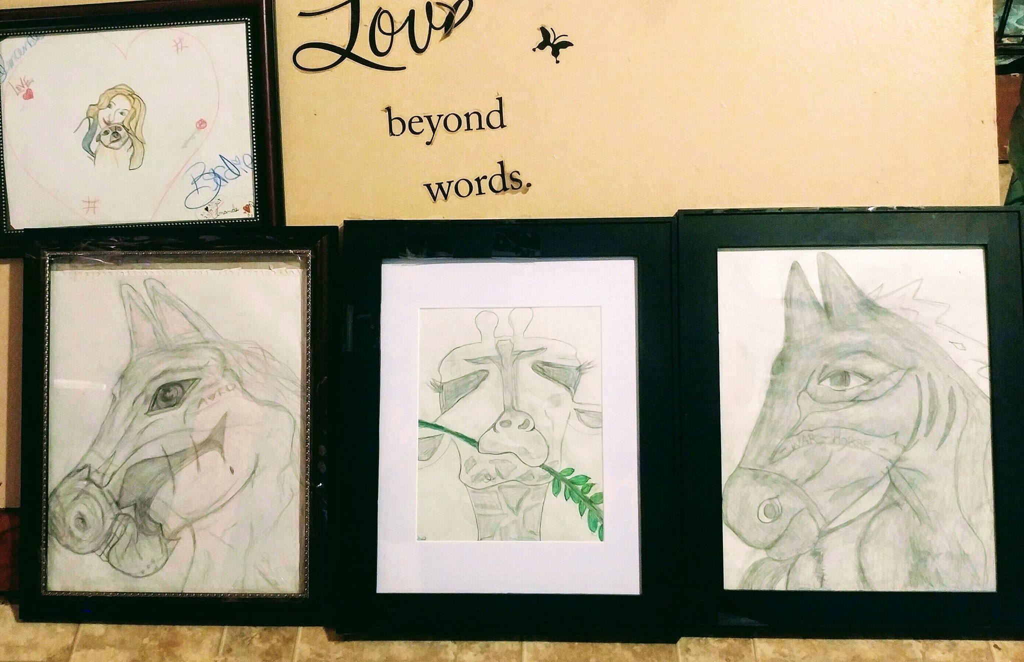 all pictures I Drew Recently by Amanda Davidson/ Crockett