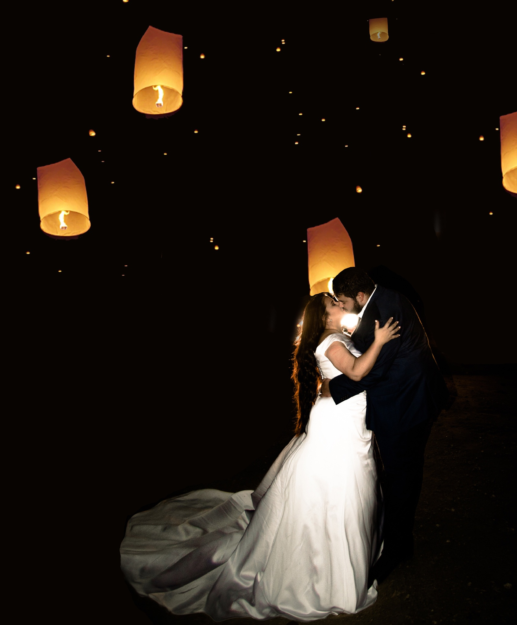 Magical wedding night by lifesatriphotography