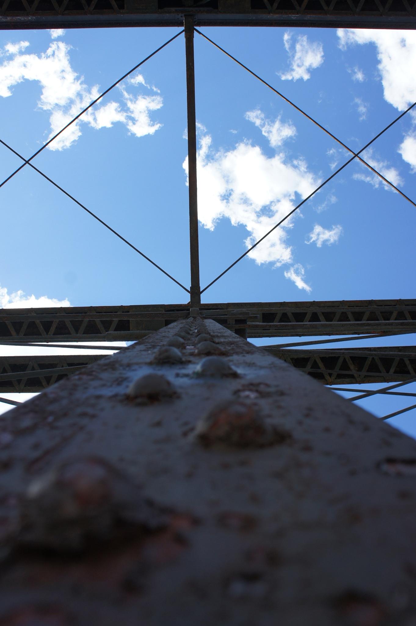 Engine Bridge Abstract by Ryan Kole
