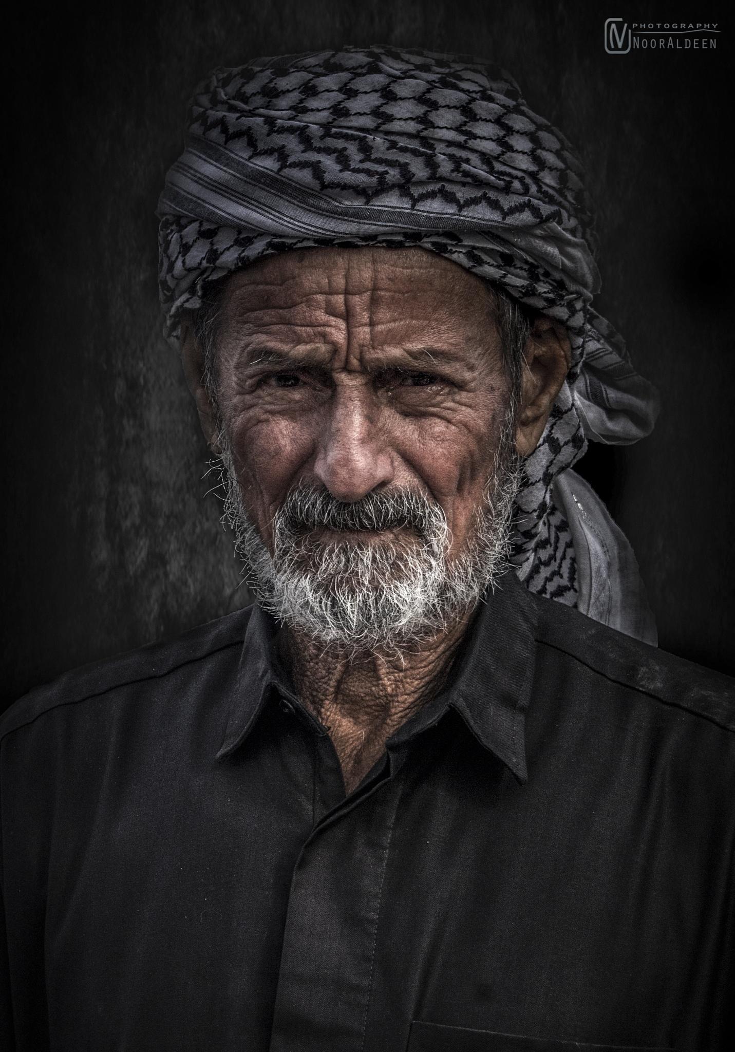 old man by NoorAldeen Mosawi