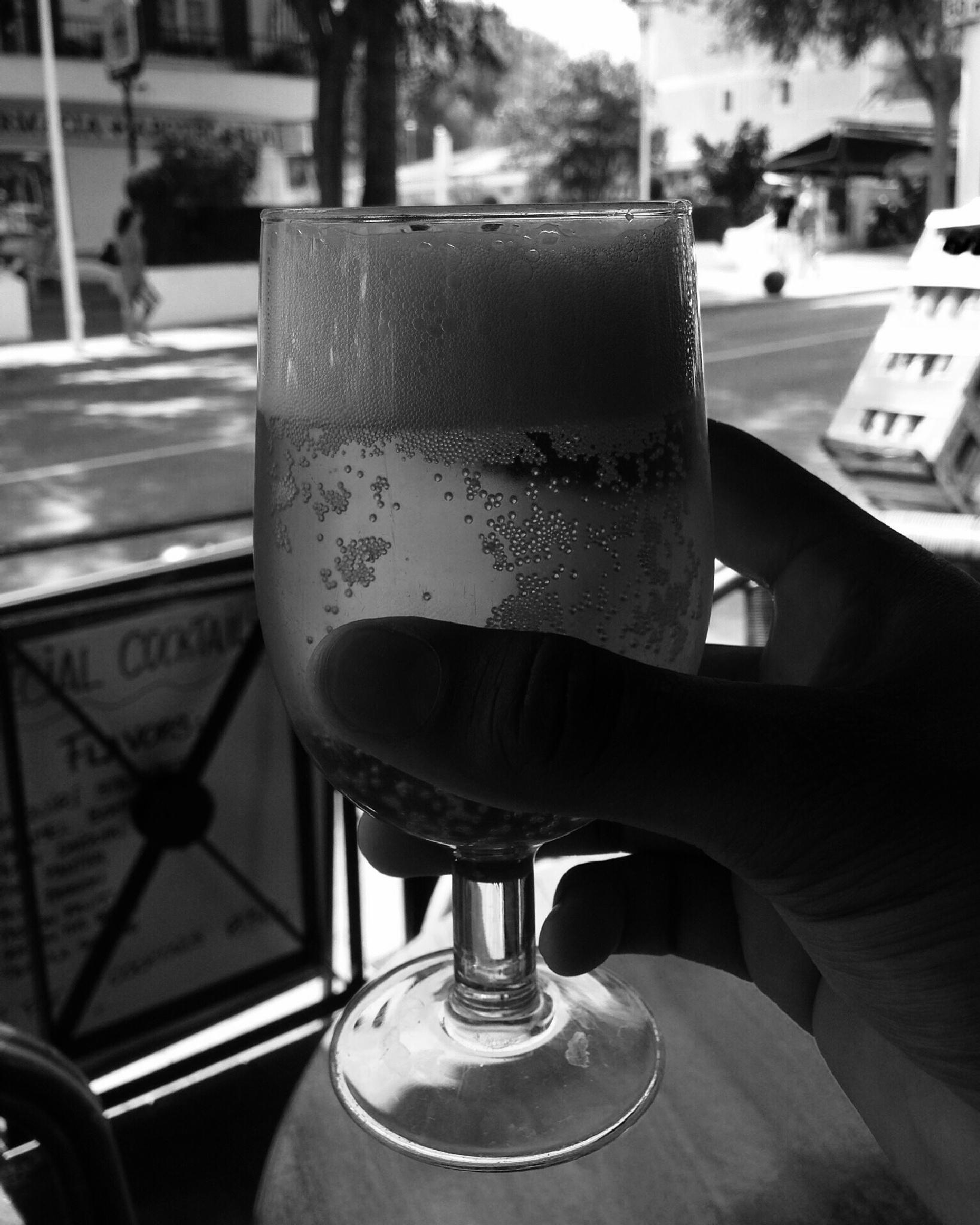 A Beer in Spain by blackandwhitesoul.com