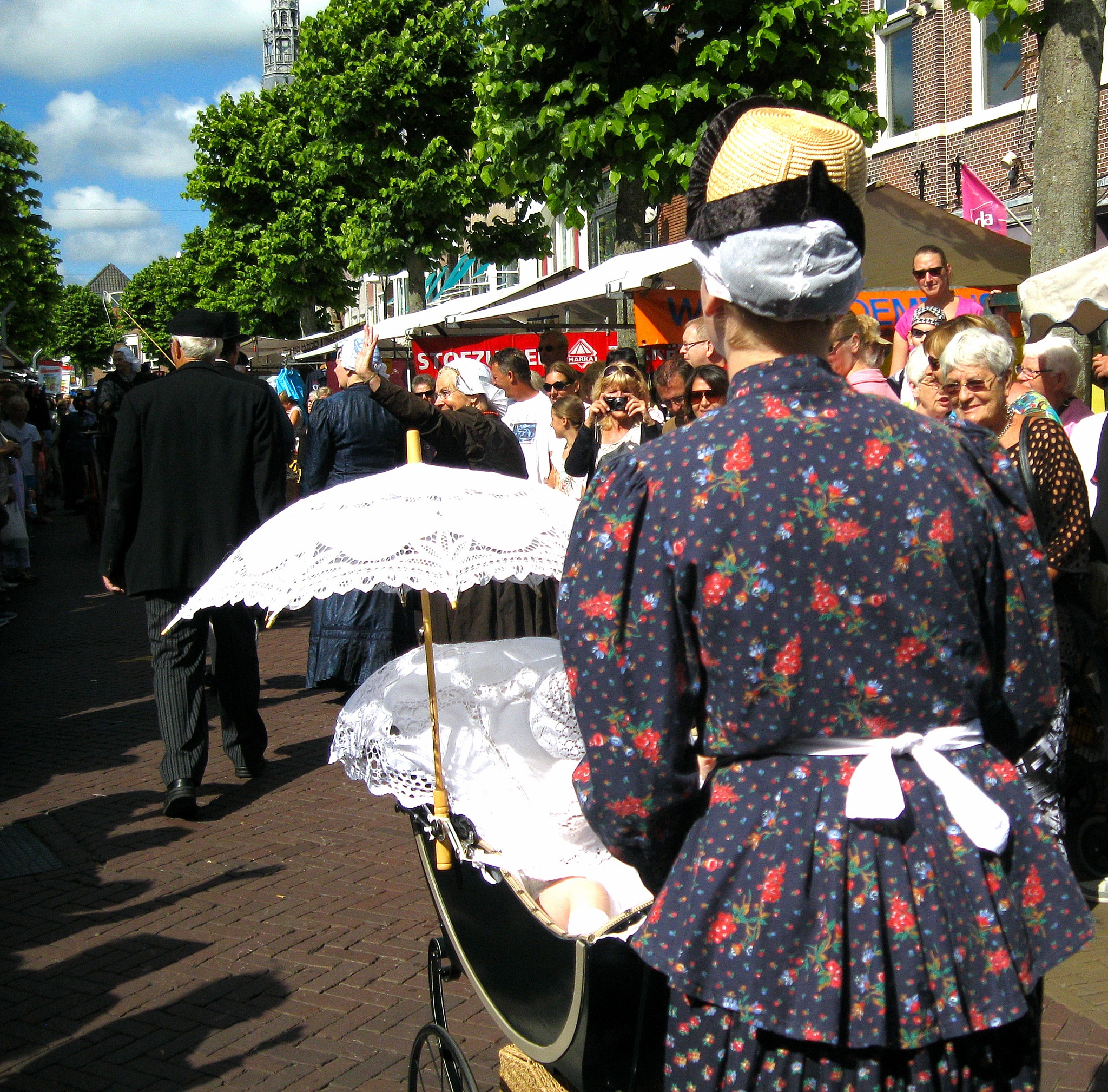 West-Friese market_ Hoorn _ Holland by Bob66