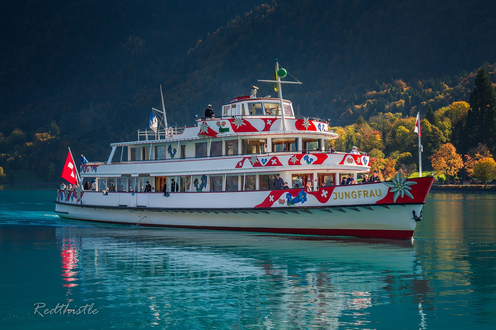 "The ""Jungfrau"" ferry-boat... by Redthistle"