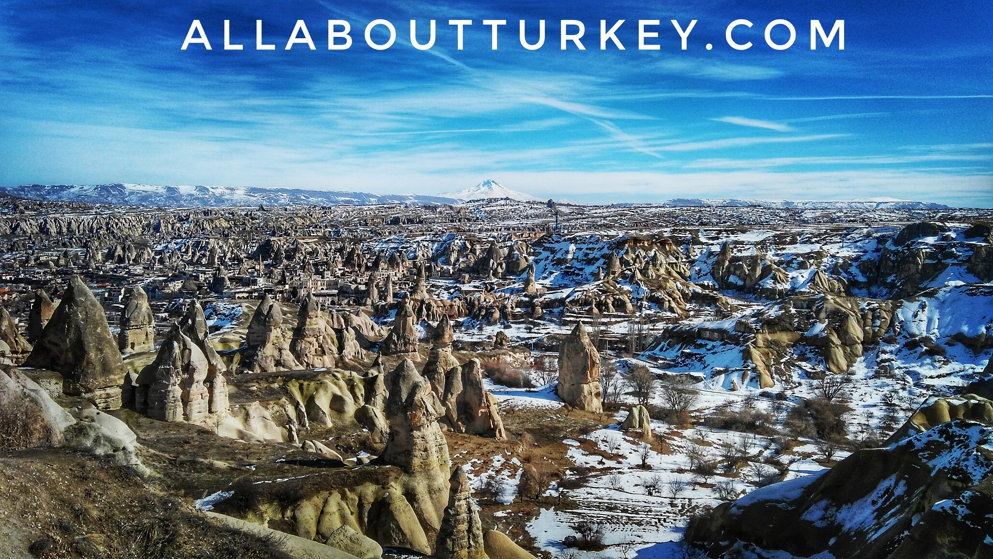 Cappadocia under snow by allaboutturkey