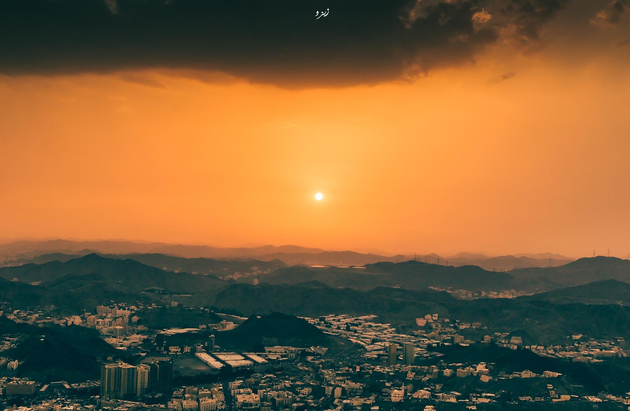 Dramatic sunset  by Abdulaziz Seddik