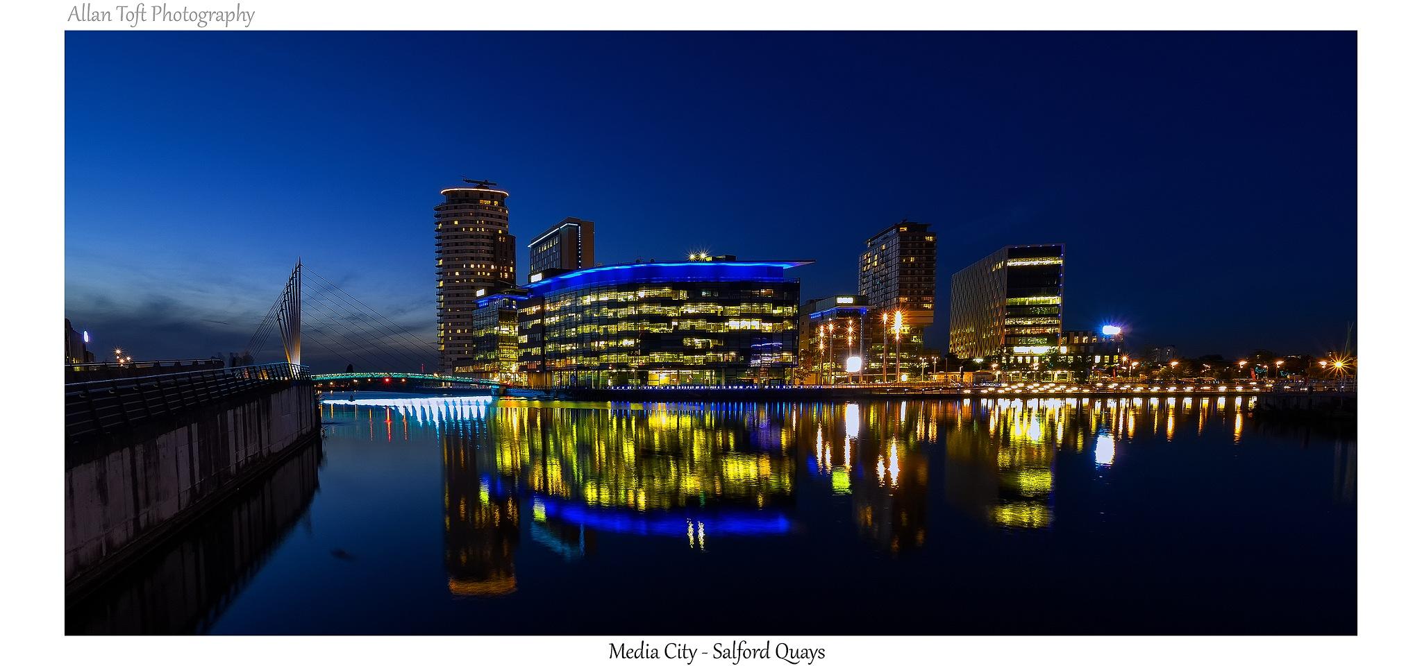 Salford Quays by Allan Toft