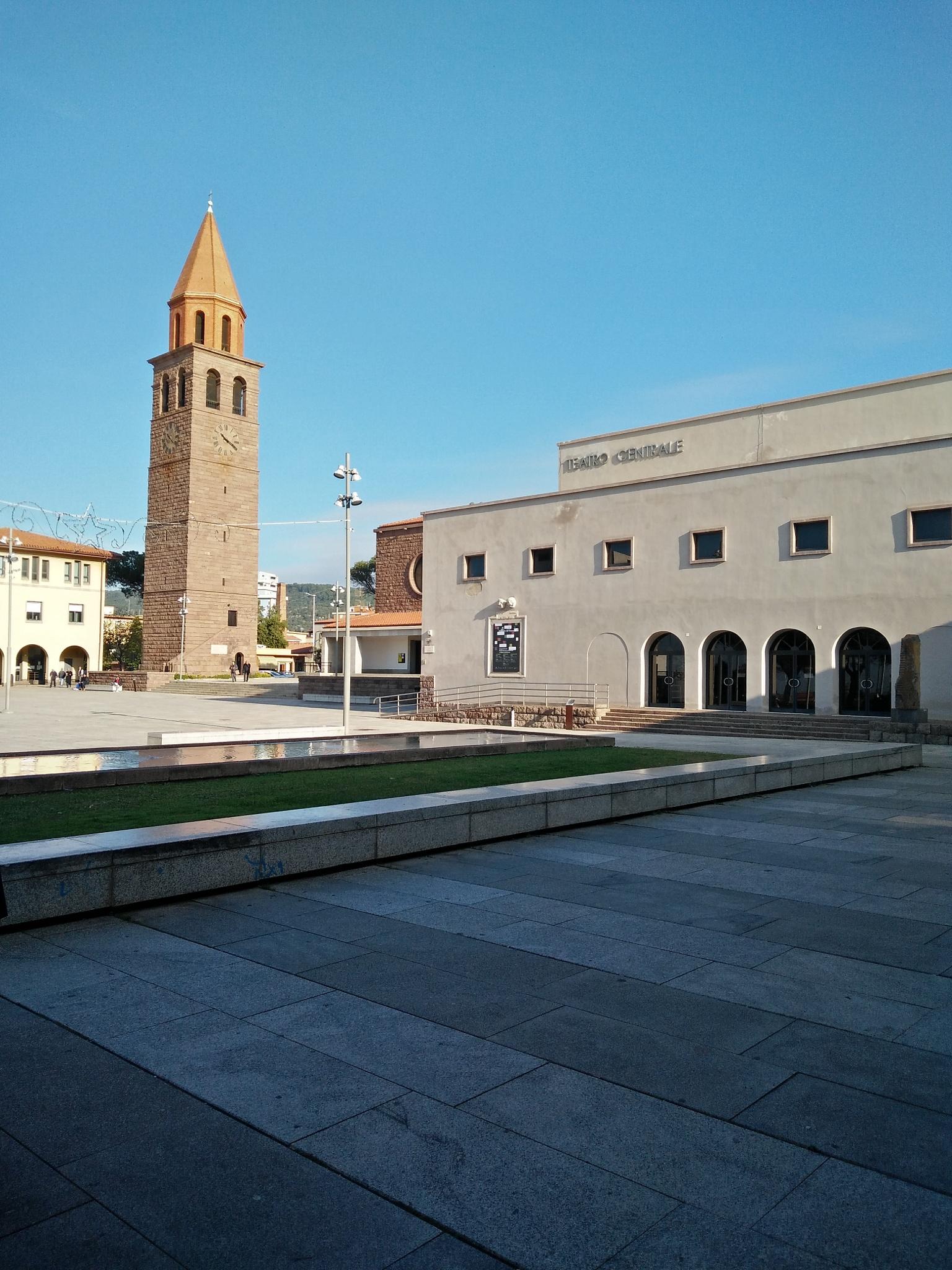 Theatre and Church by Fabio Pinna