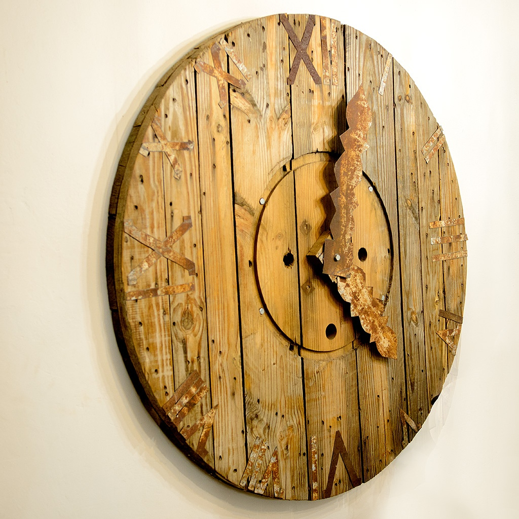 Wooden Clock by zsthreef