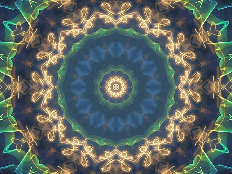 Mandala of light by natashaneit