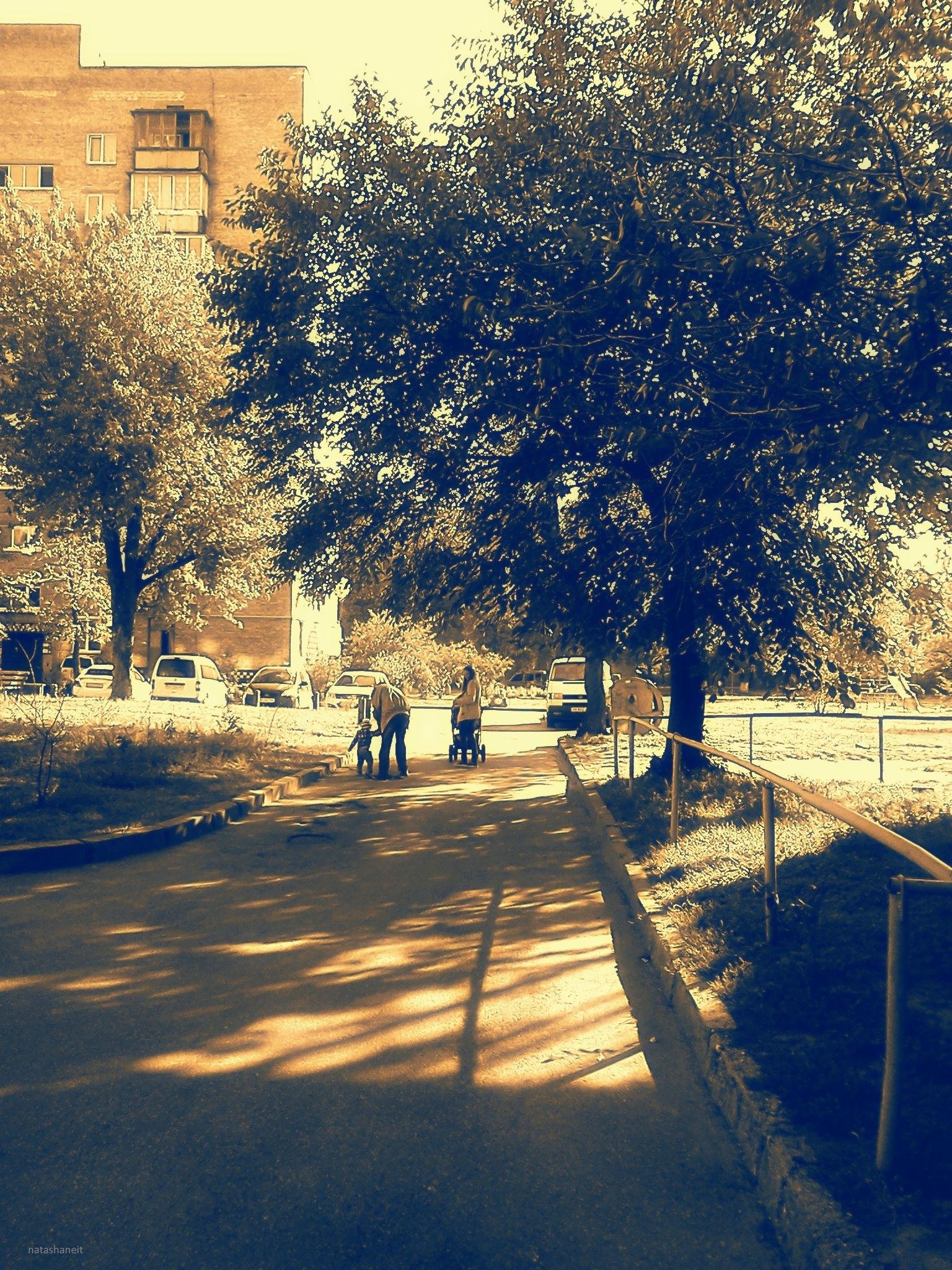 Family walk by natashaneit