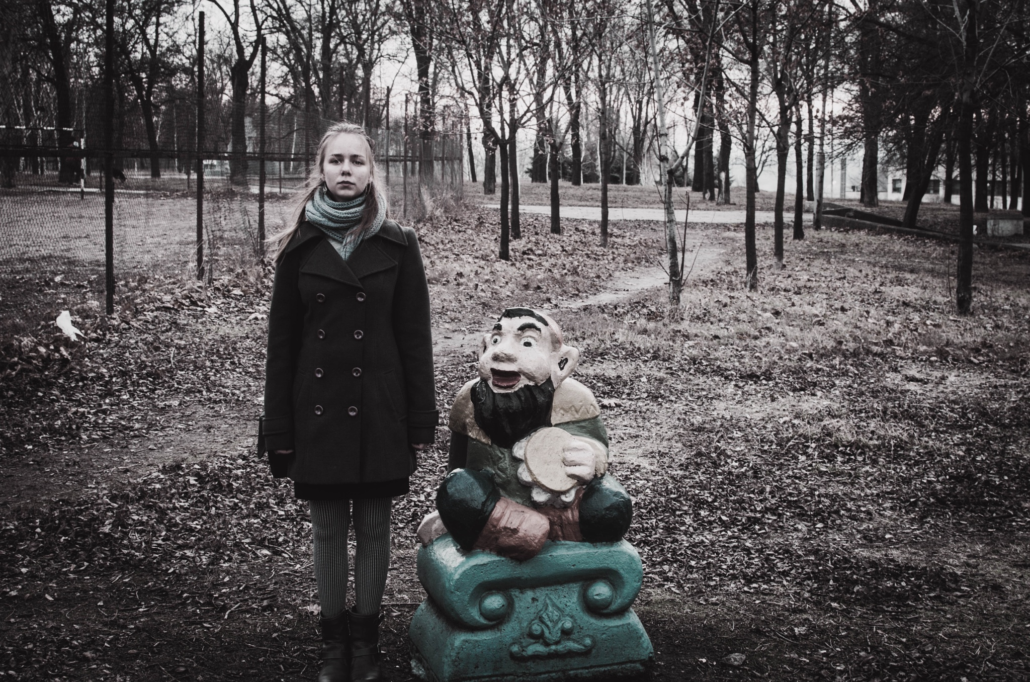 Strange Gnome  by Whiteviva
