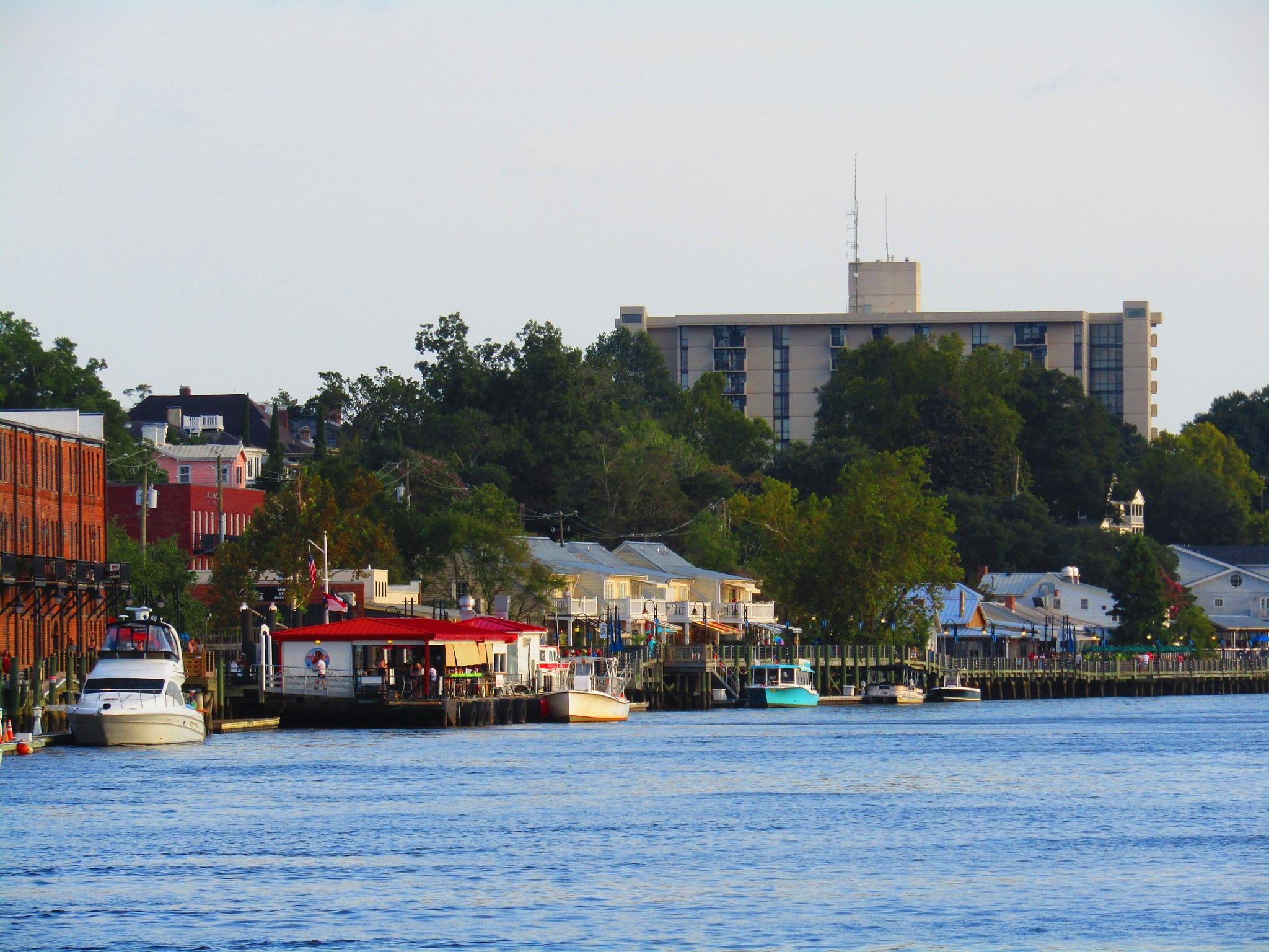 Wilmington Riverwalk by StevenKlabunde