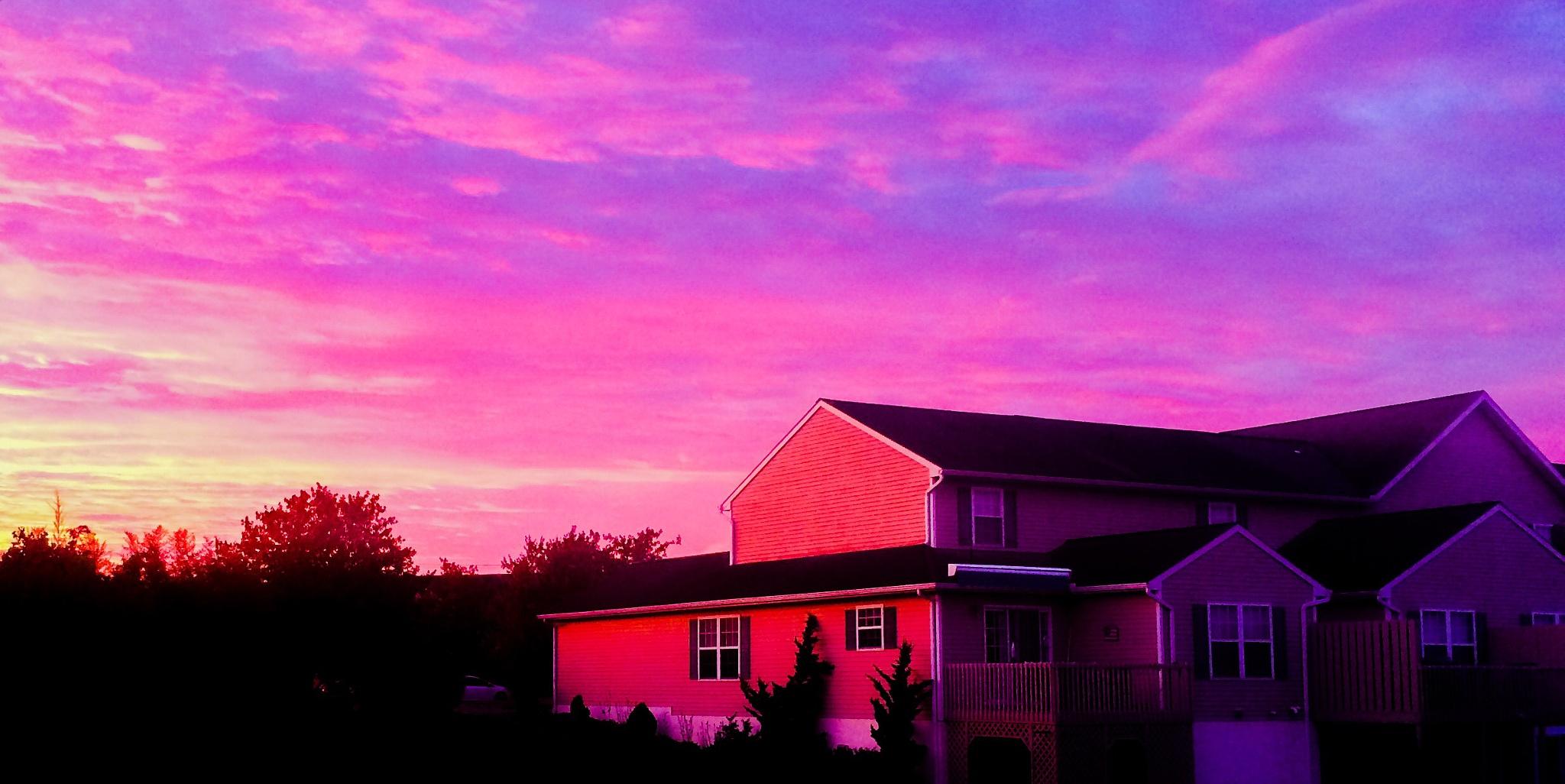 Sunrise  by horses1