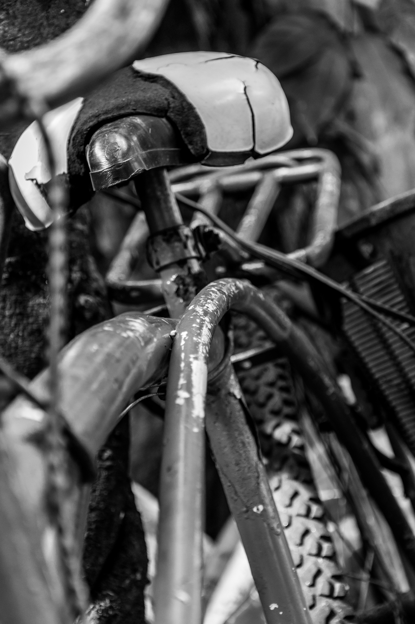 Bicicleta Velha by Valmirez