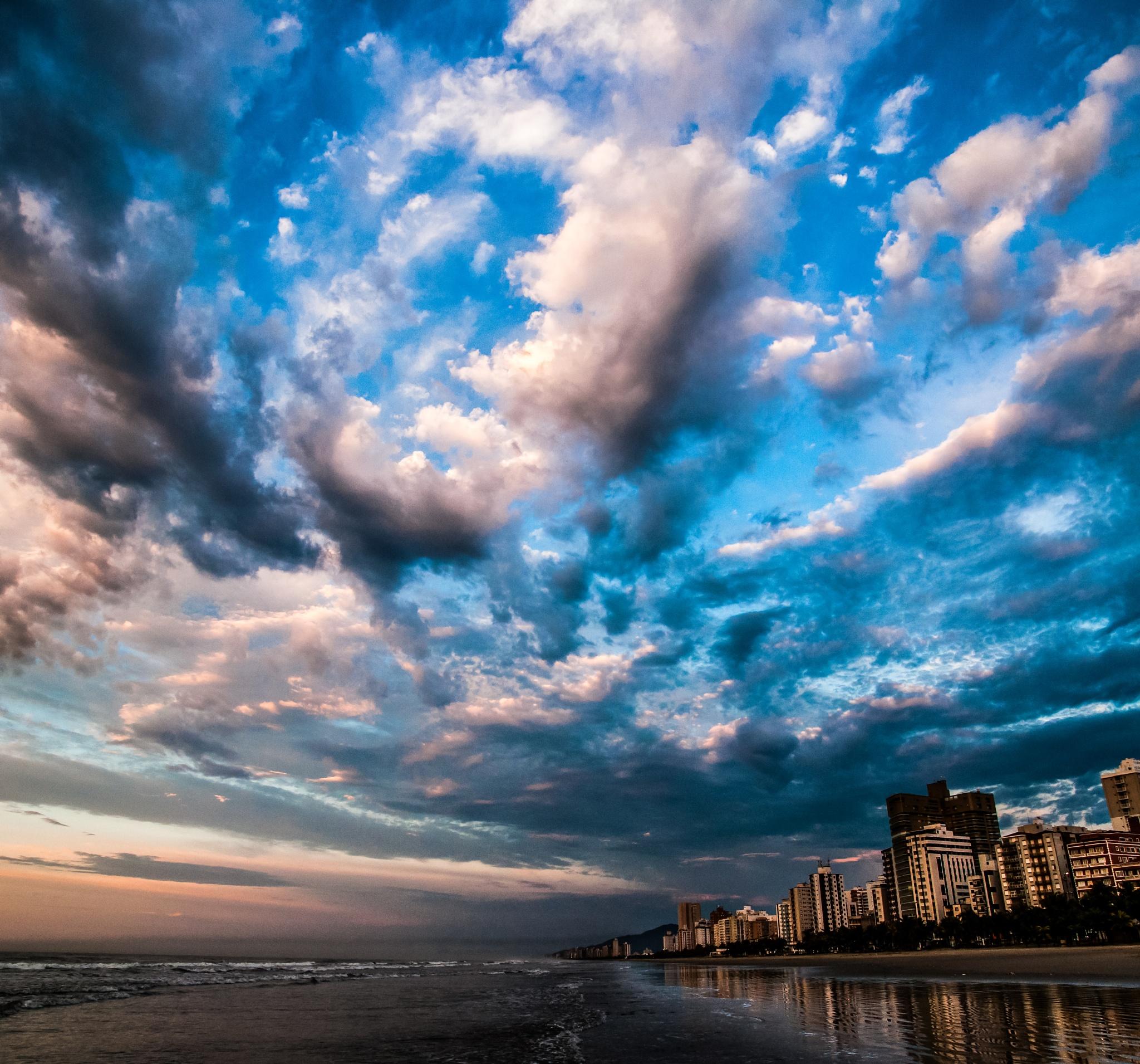 Praia Grande SP Brazil by Valmirez