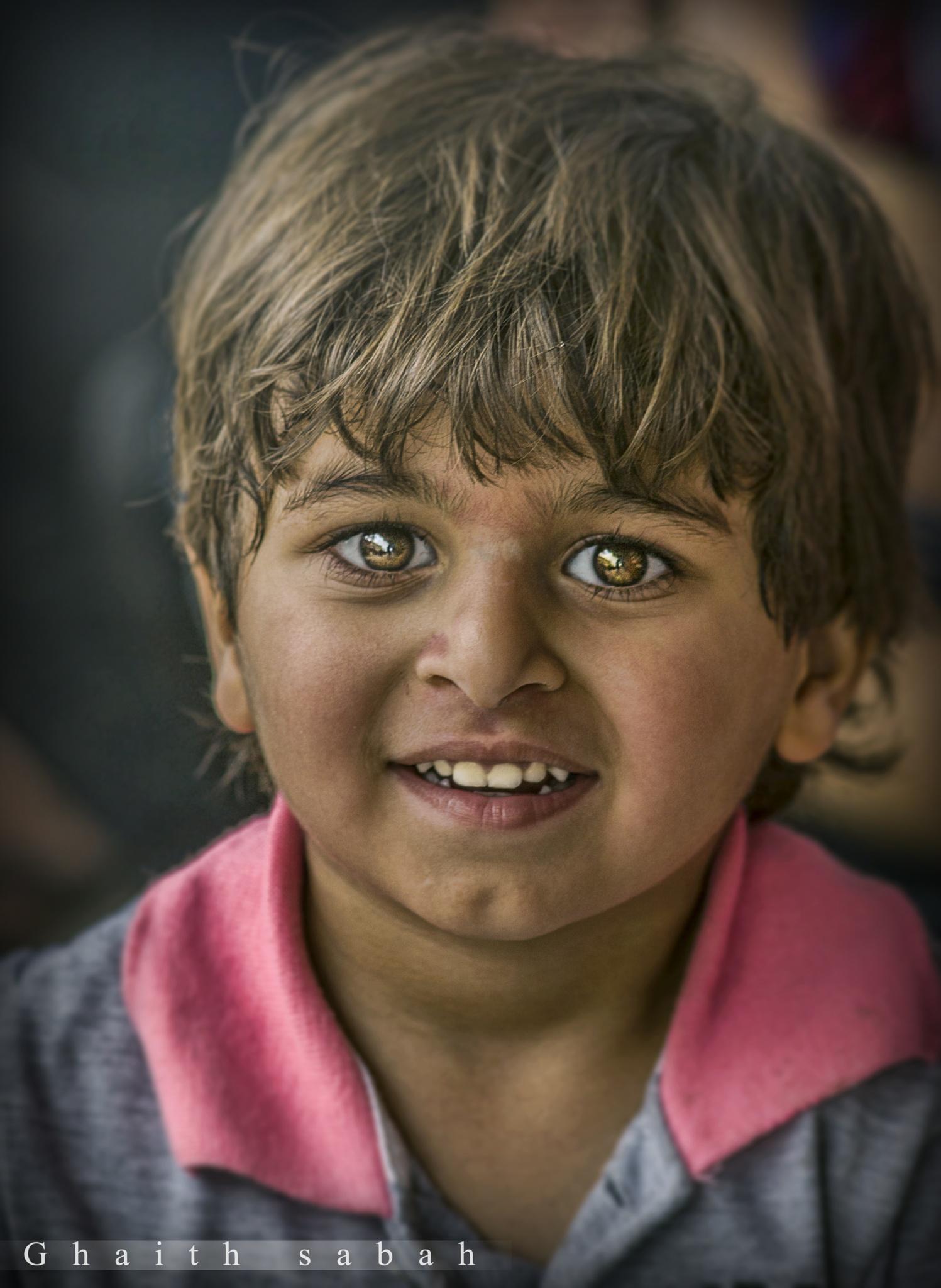 Smile  by Ghaith Sabah