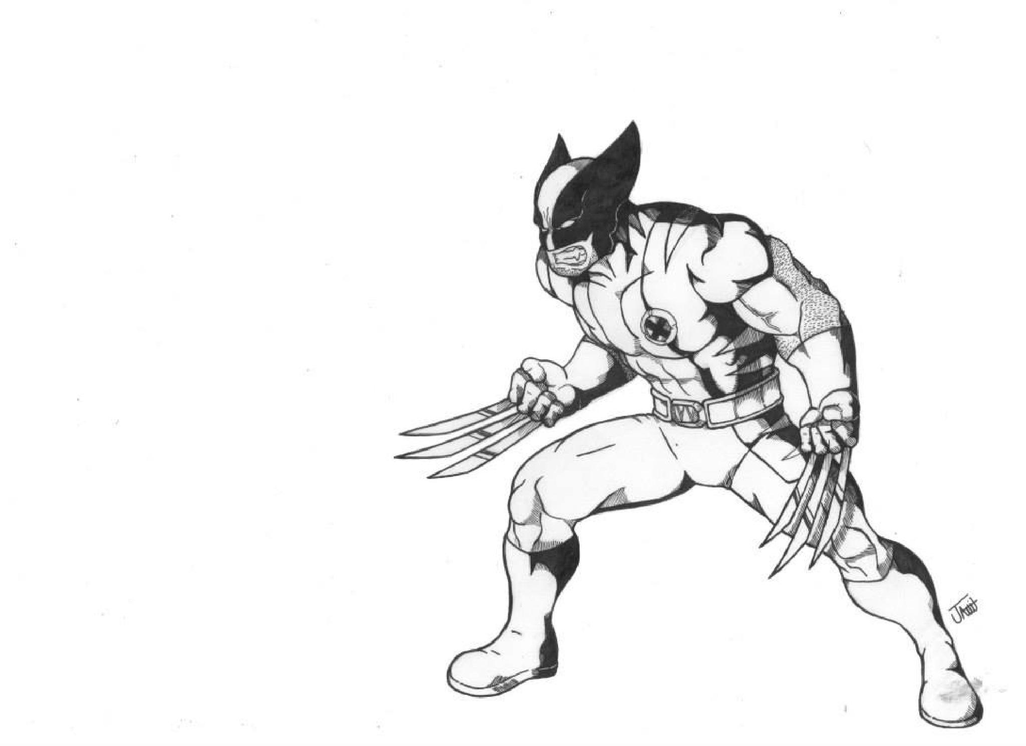 Wolwerine Marvel Comics Fan Art by Jamil Araujo