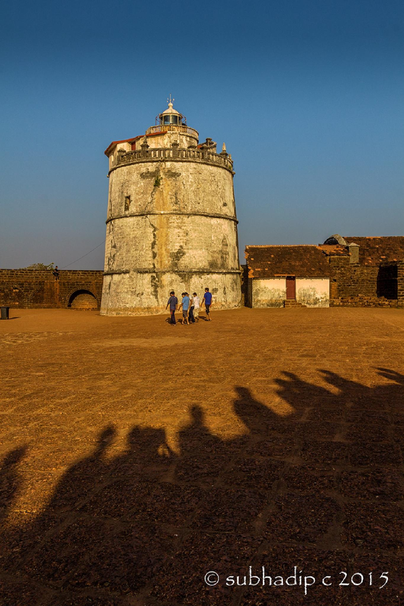 Fort Aguada Lighthouse by subhadip_c