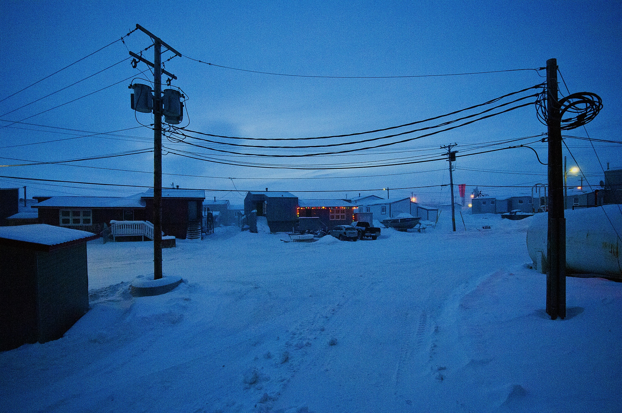 Iqaluit New Year by Martin Hartley