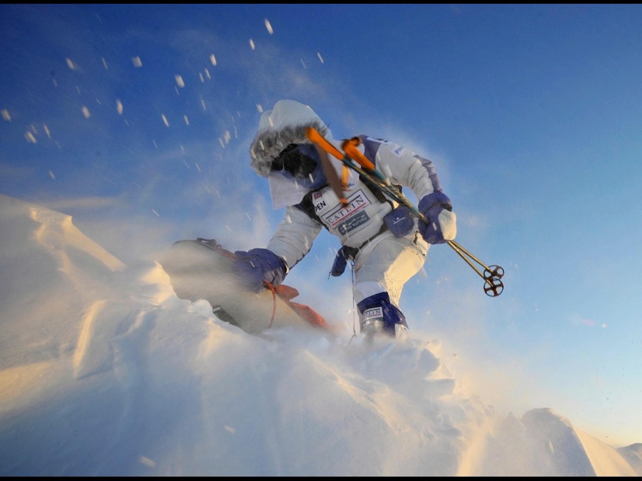 Polar Hero, Pen Hadow by Martin Hartley
