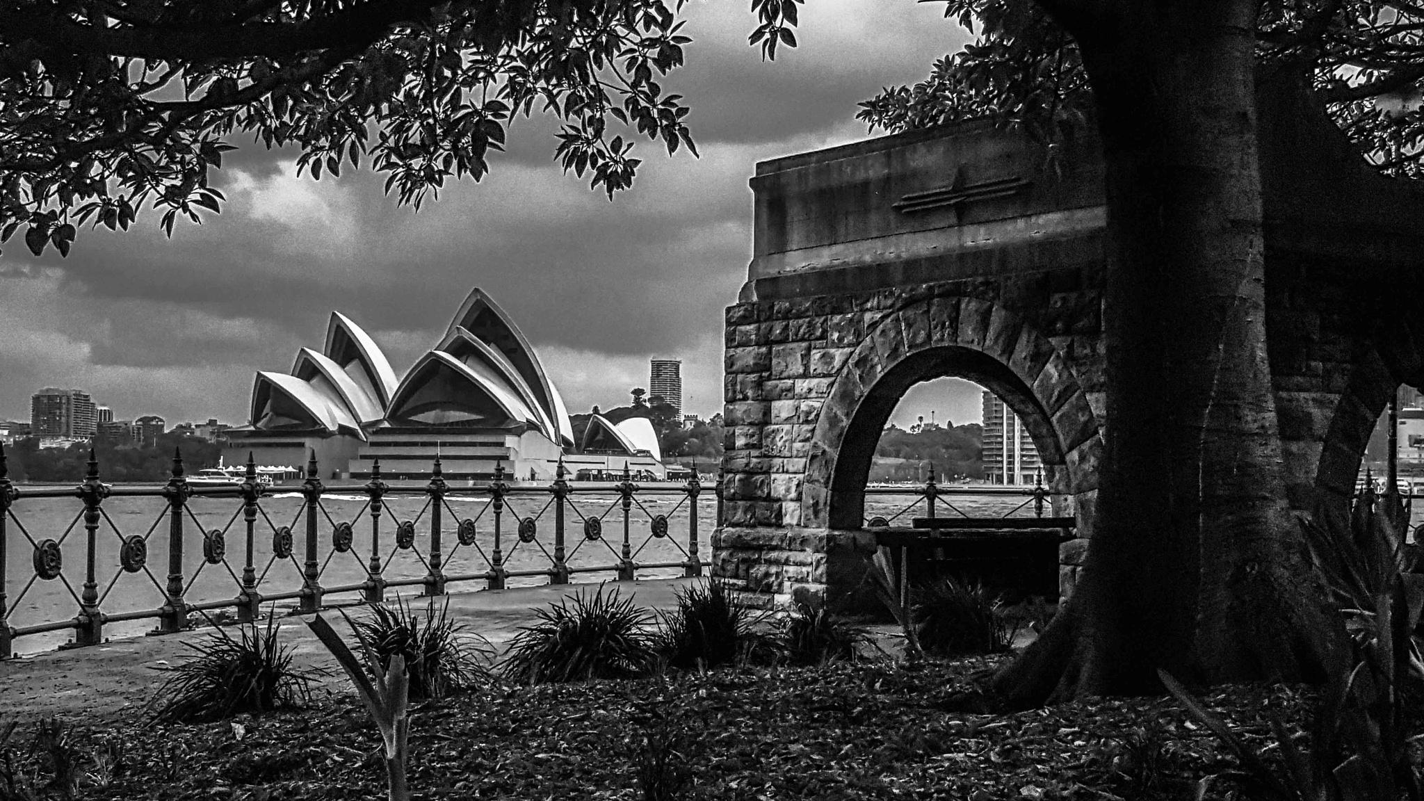 Milsons Point1 (Opera House) by Adam Rybka