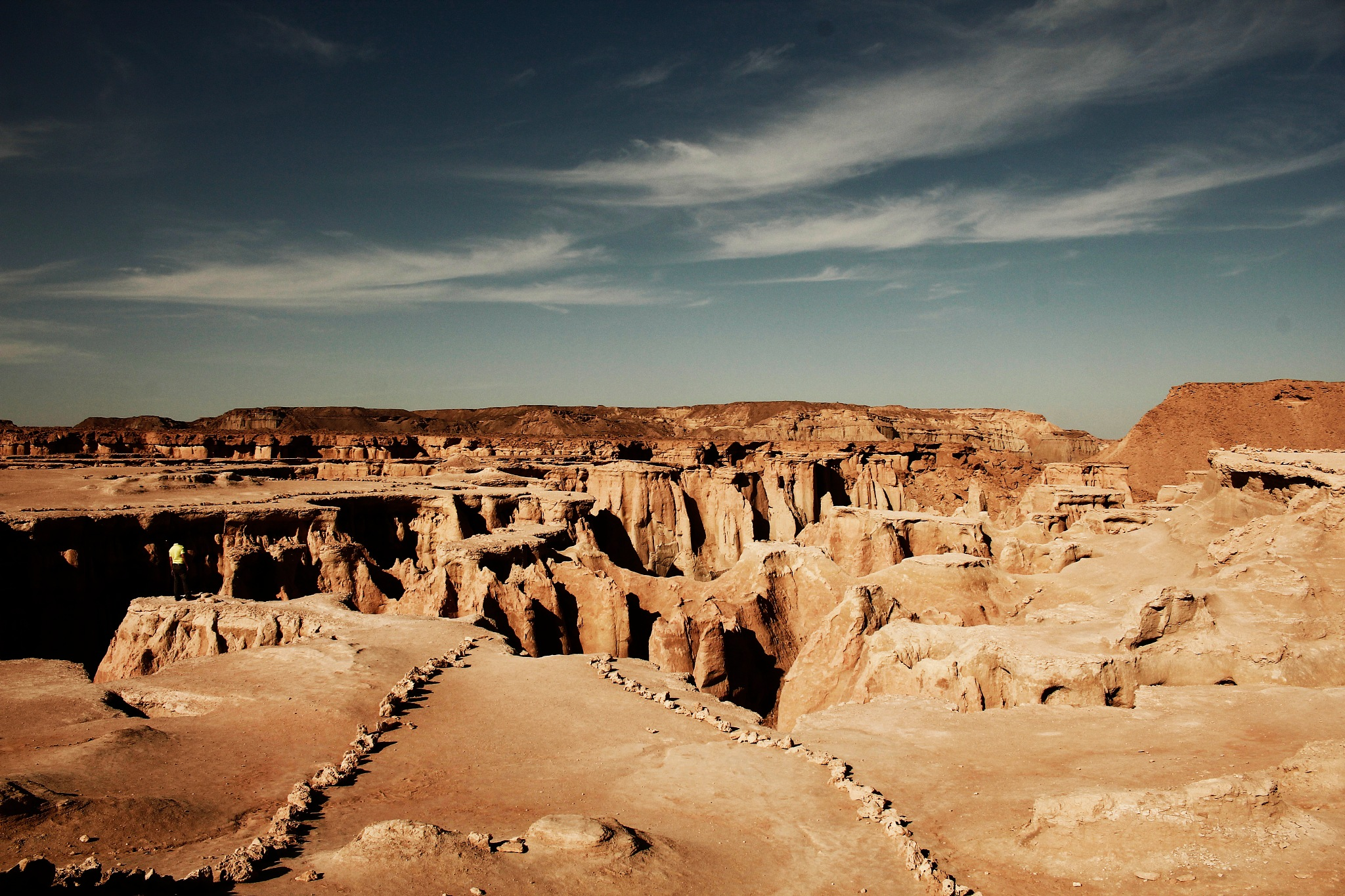 Silence in Desert by Mohammad Hashemi