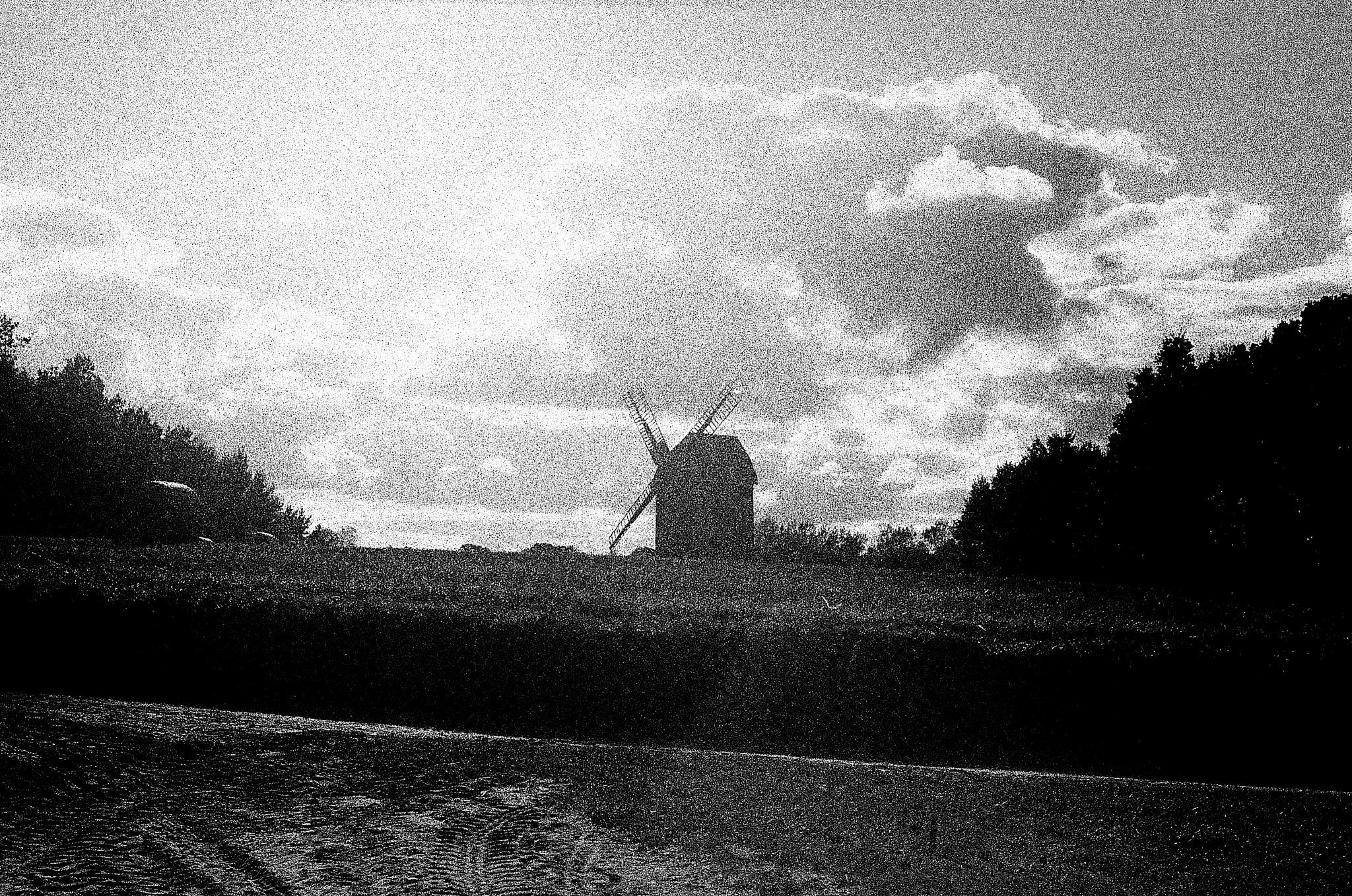 Old Windmill by filiplipinski1