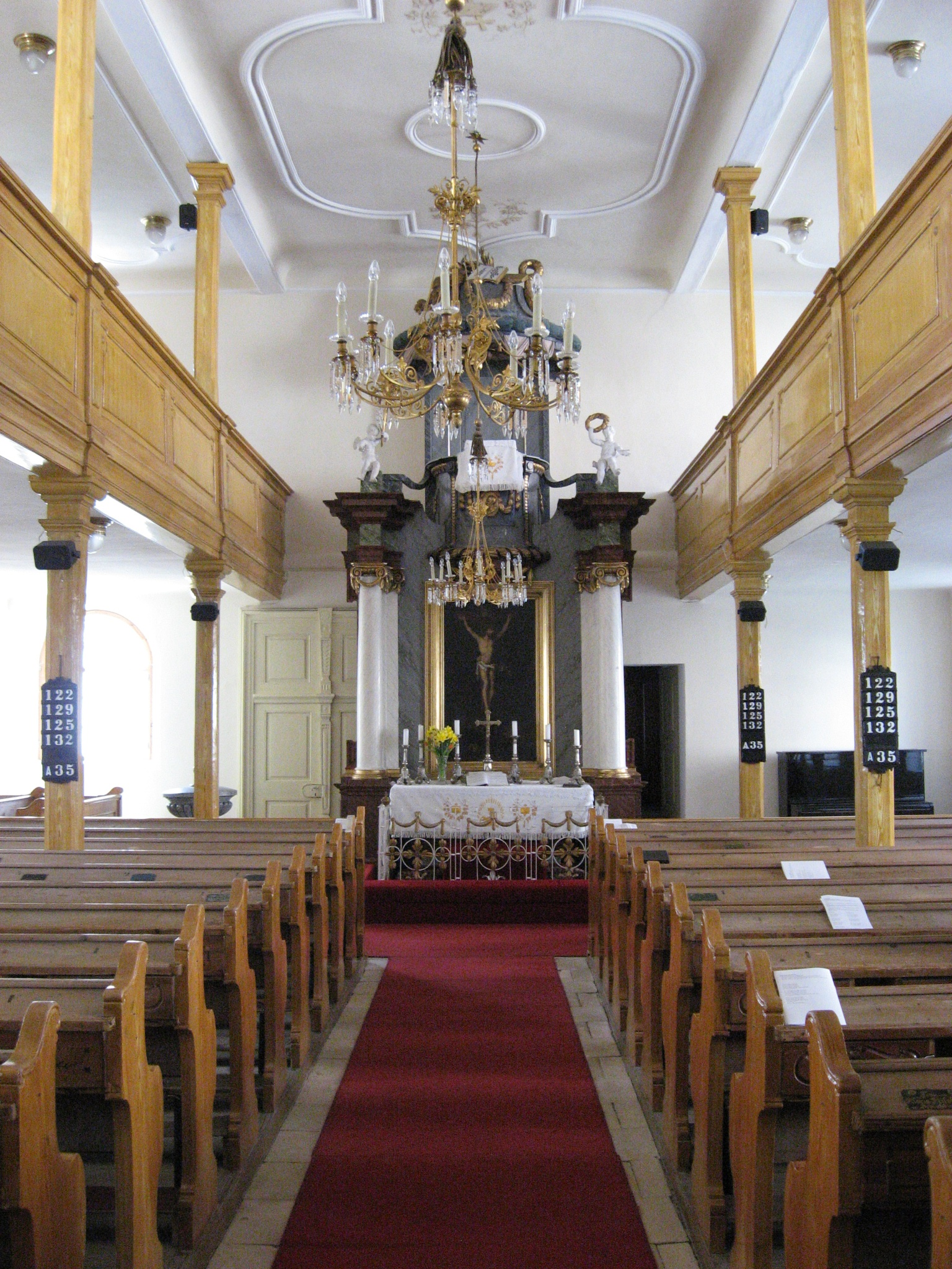 Lutheran Church in Svaty Jur by filiplipinski1