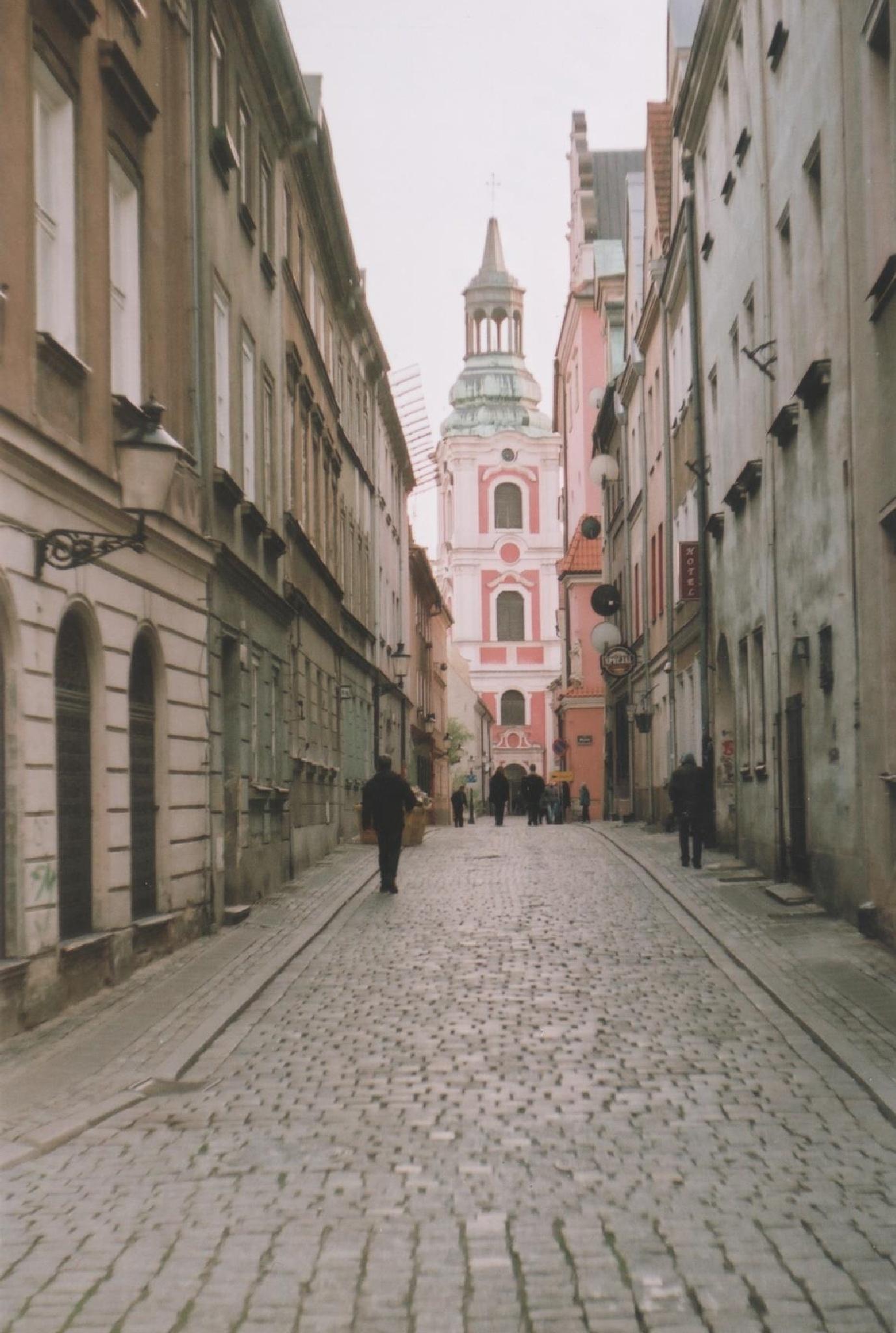 Poznań - Klasztorna Street by filiplipinski1