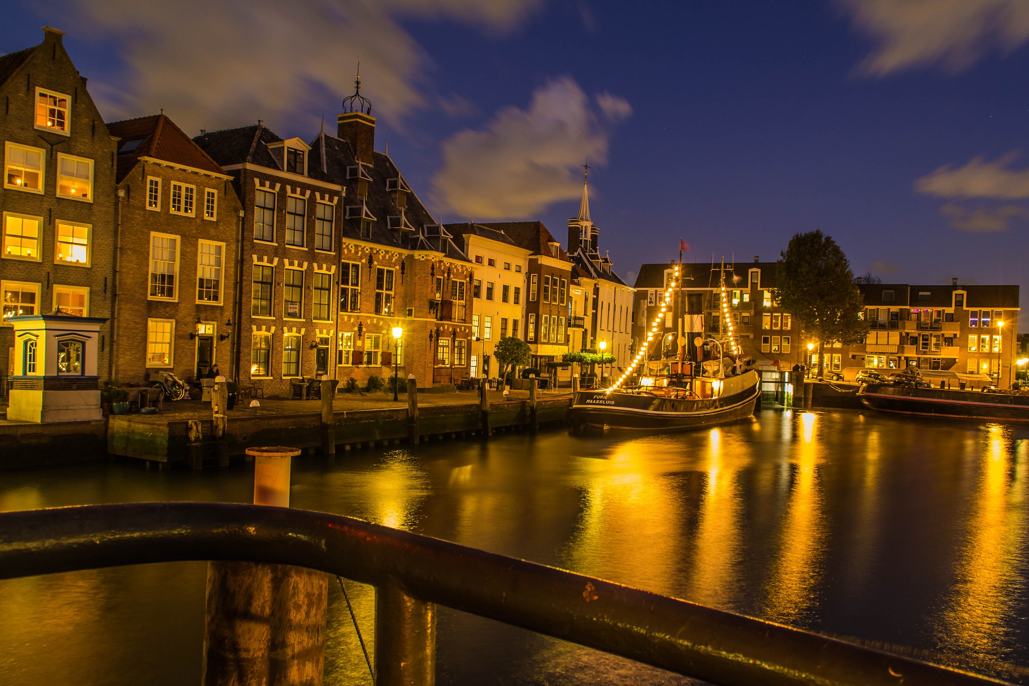 Harbour by Gerrit Kuyvenhoven