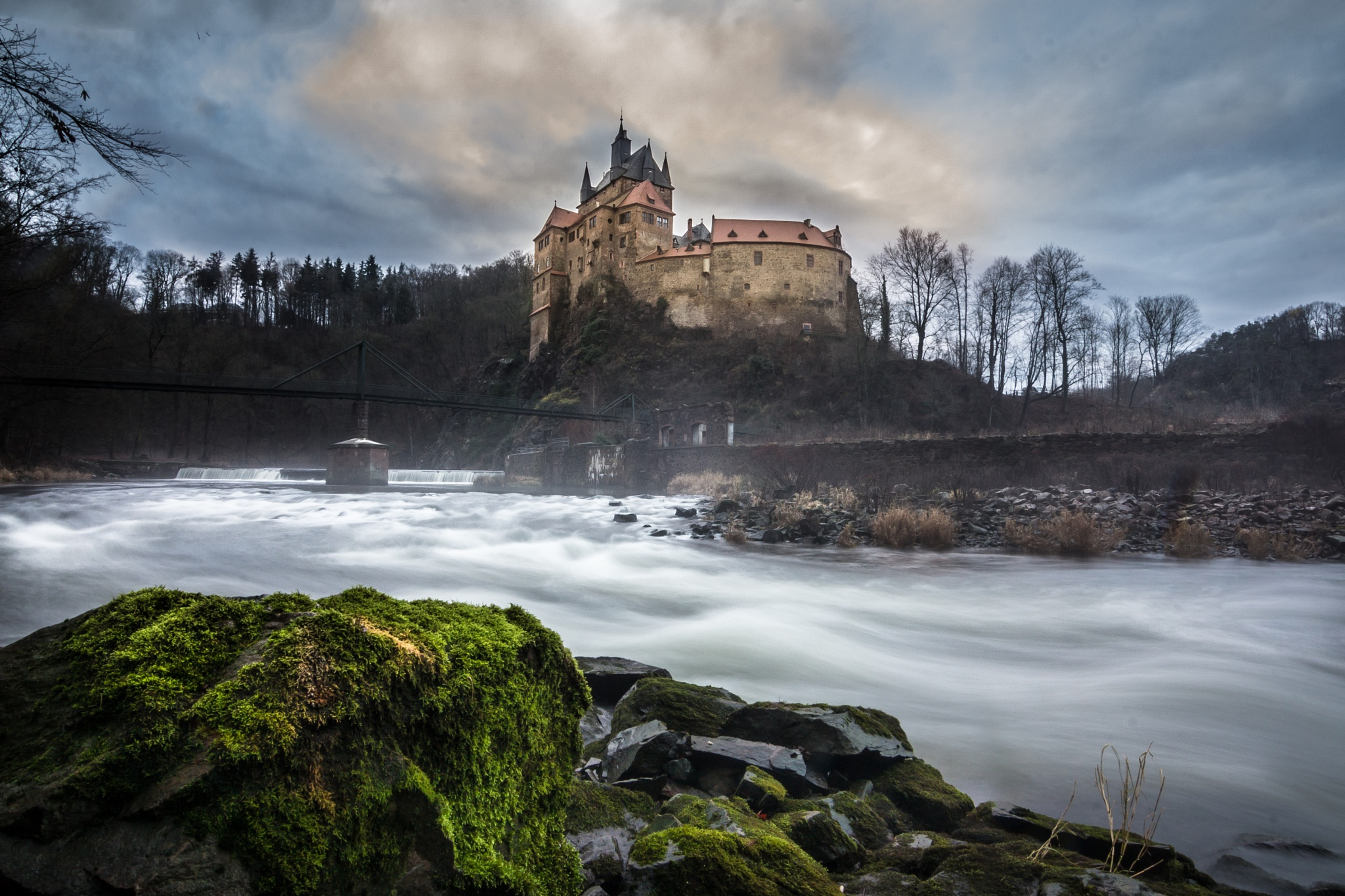 Burg Kriebstein by Christian Schindler