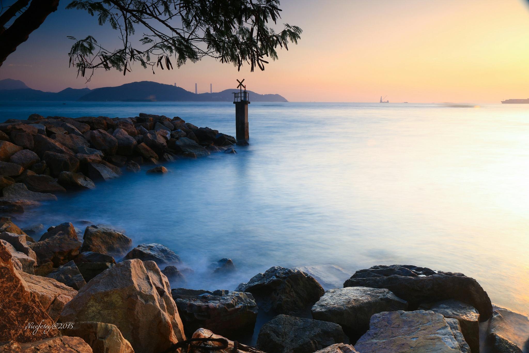 Sunset@Sandy bay_4 by Nicofotog