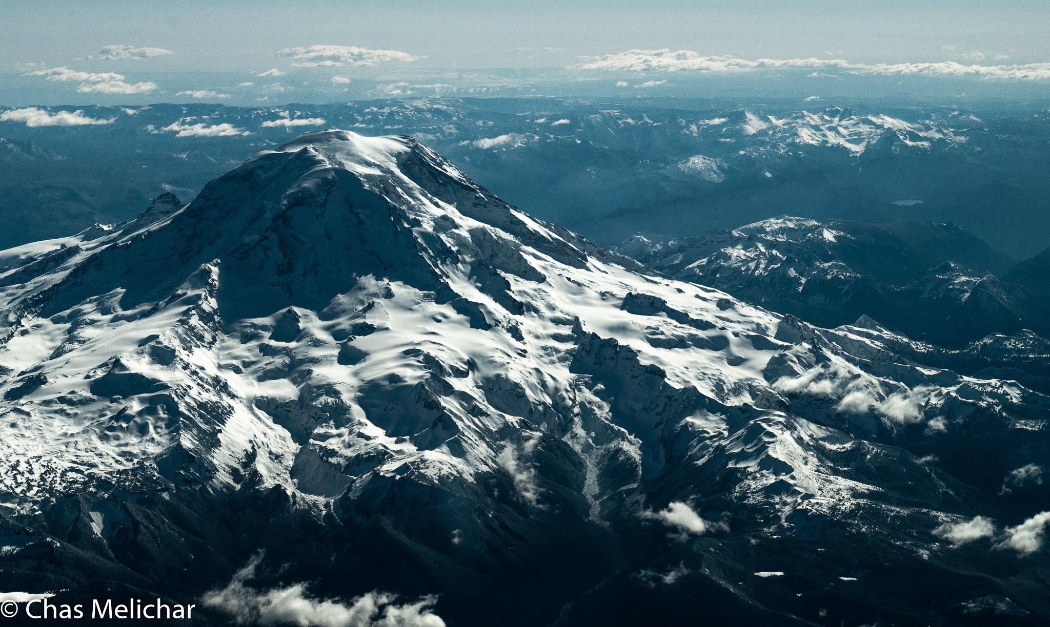 Mt. Reiner by Chas Melichar