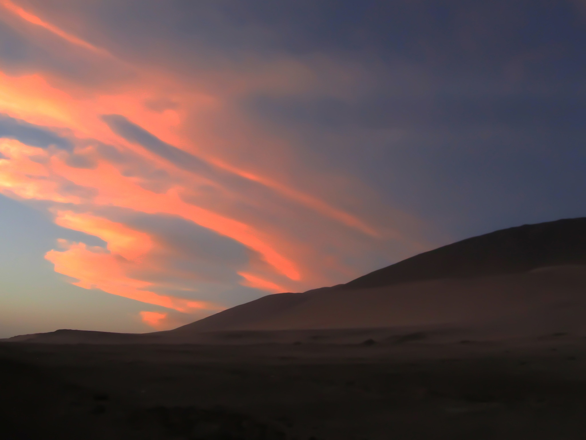 Tramonto tra le dune by Maurizio