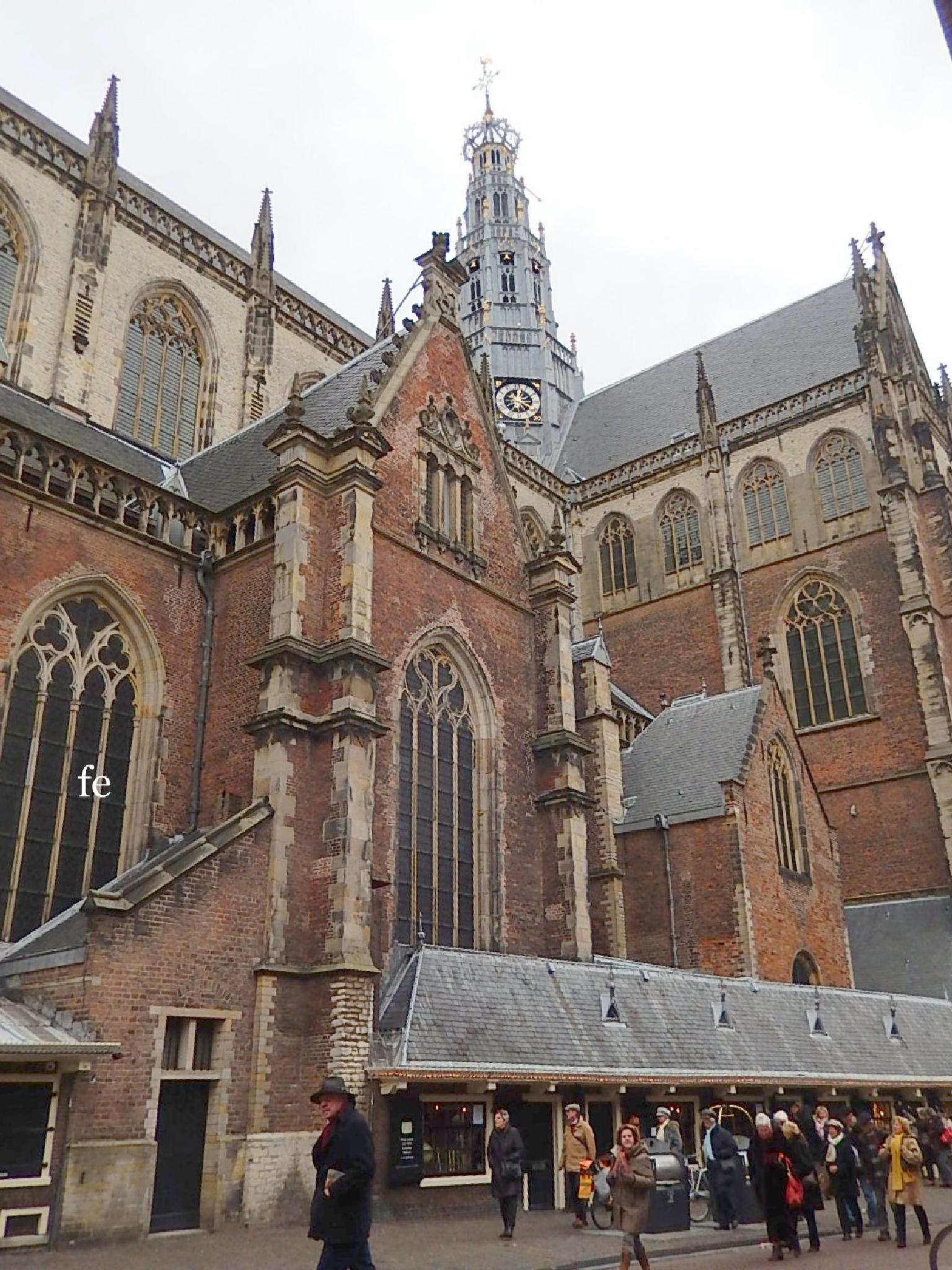 Old Church, at Haarlem, NL. by eliza