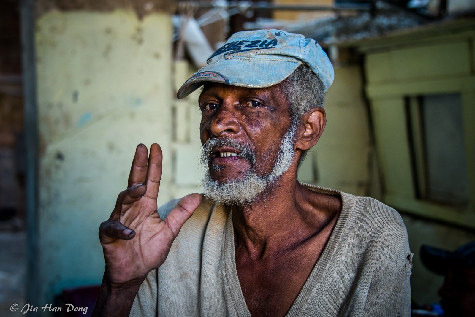 Portrait from Cuba by Jiahan Dong