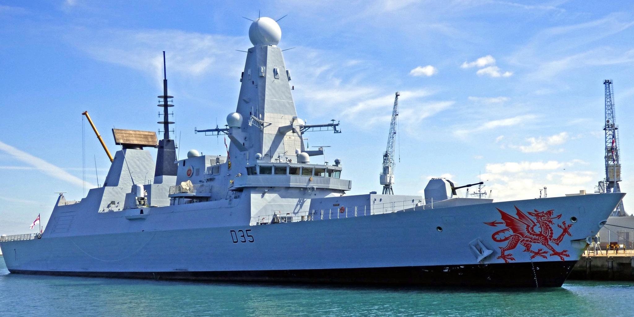 HMS Dragon D Class (c) Richard Cooke by Richard Cooke