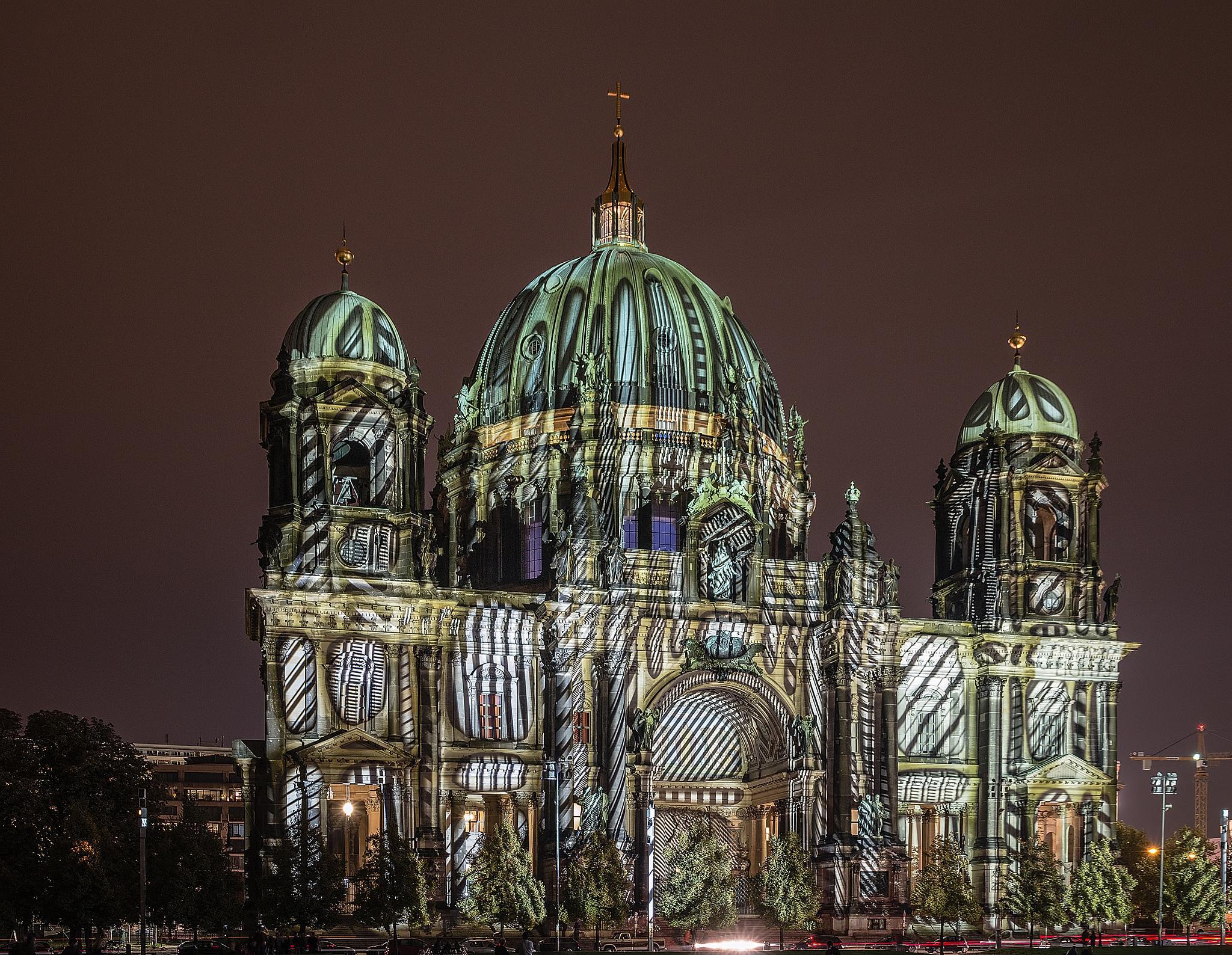 Berliner Dom - Fol 8 by Frank Haase