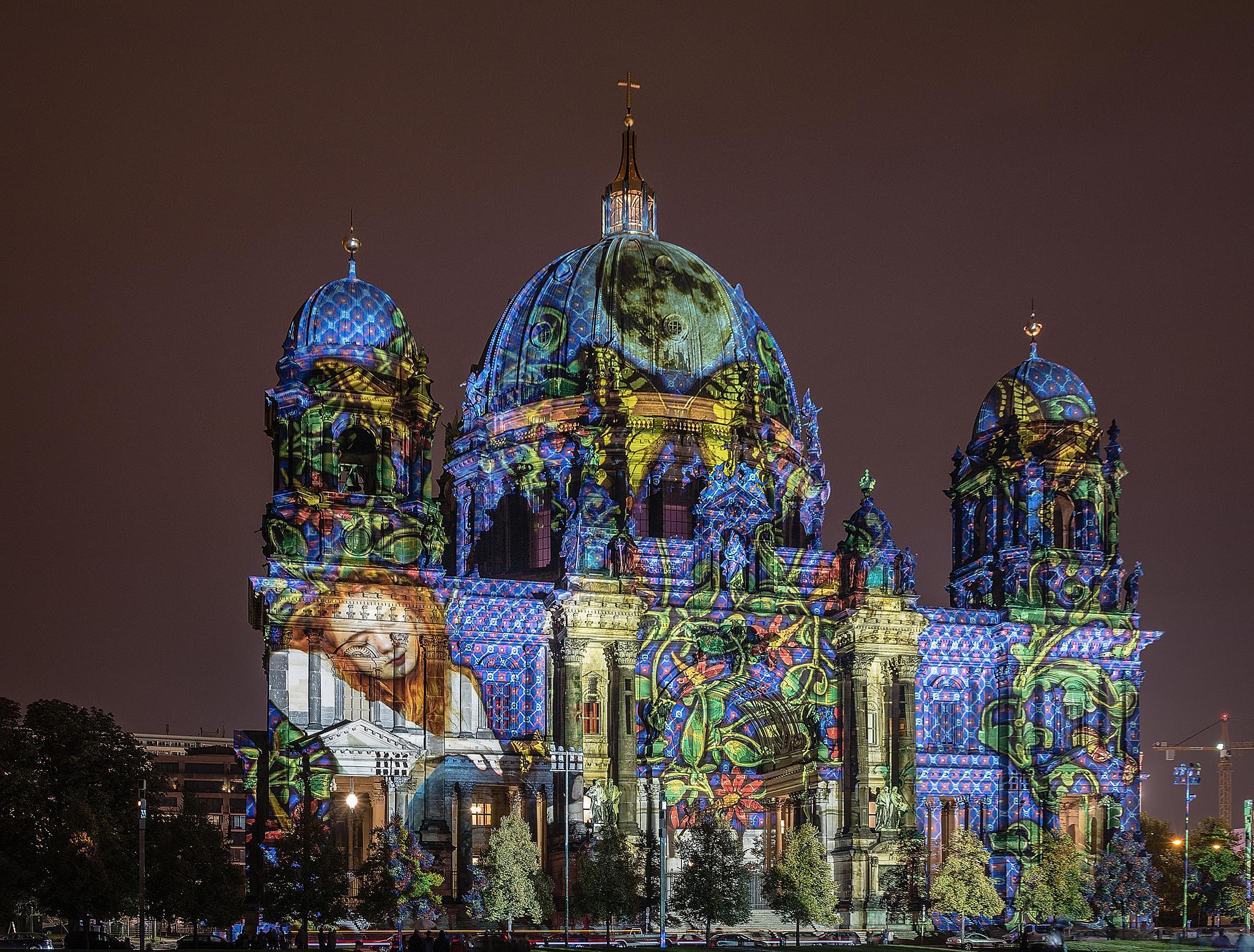 Berliner Dom - Fol 11 by Frank Haase