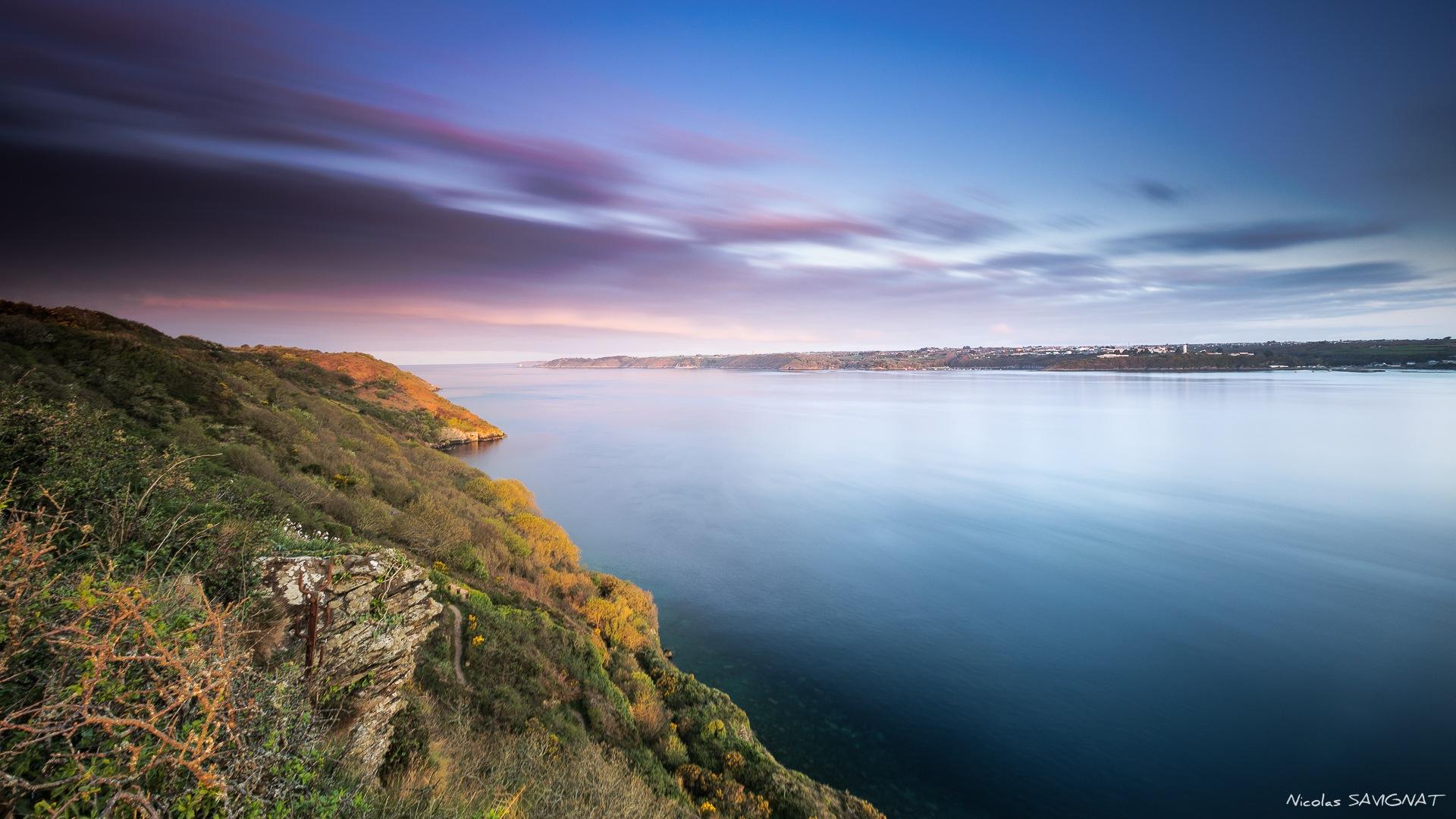 Pointe des Espagnols - Sunrise by Nicolas SAVIGNAT