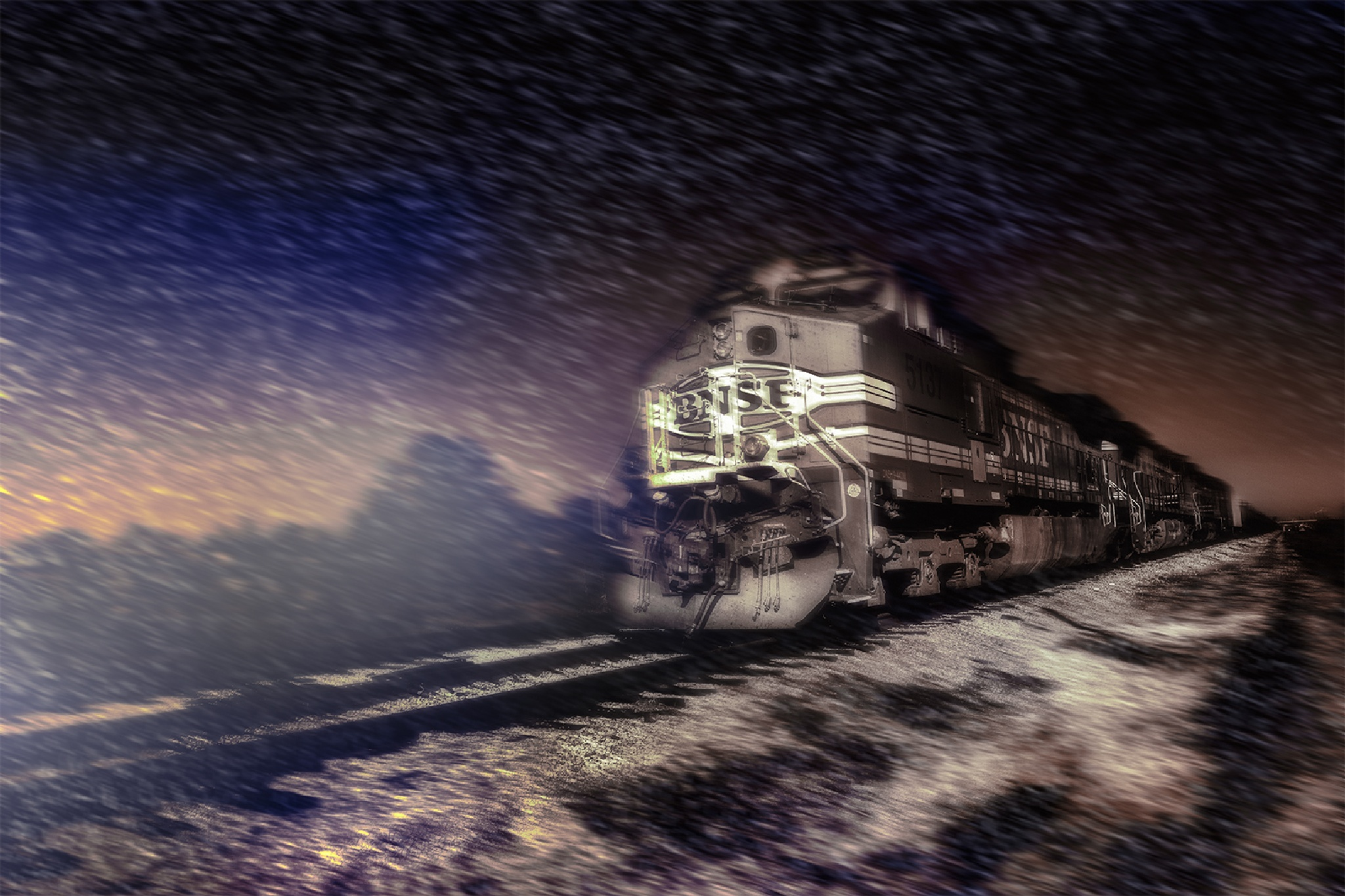 Night Train by quanyin