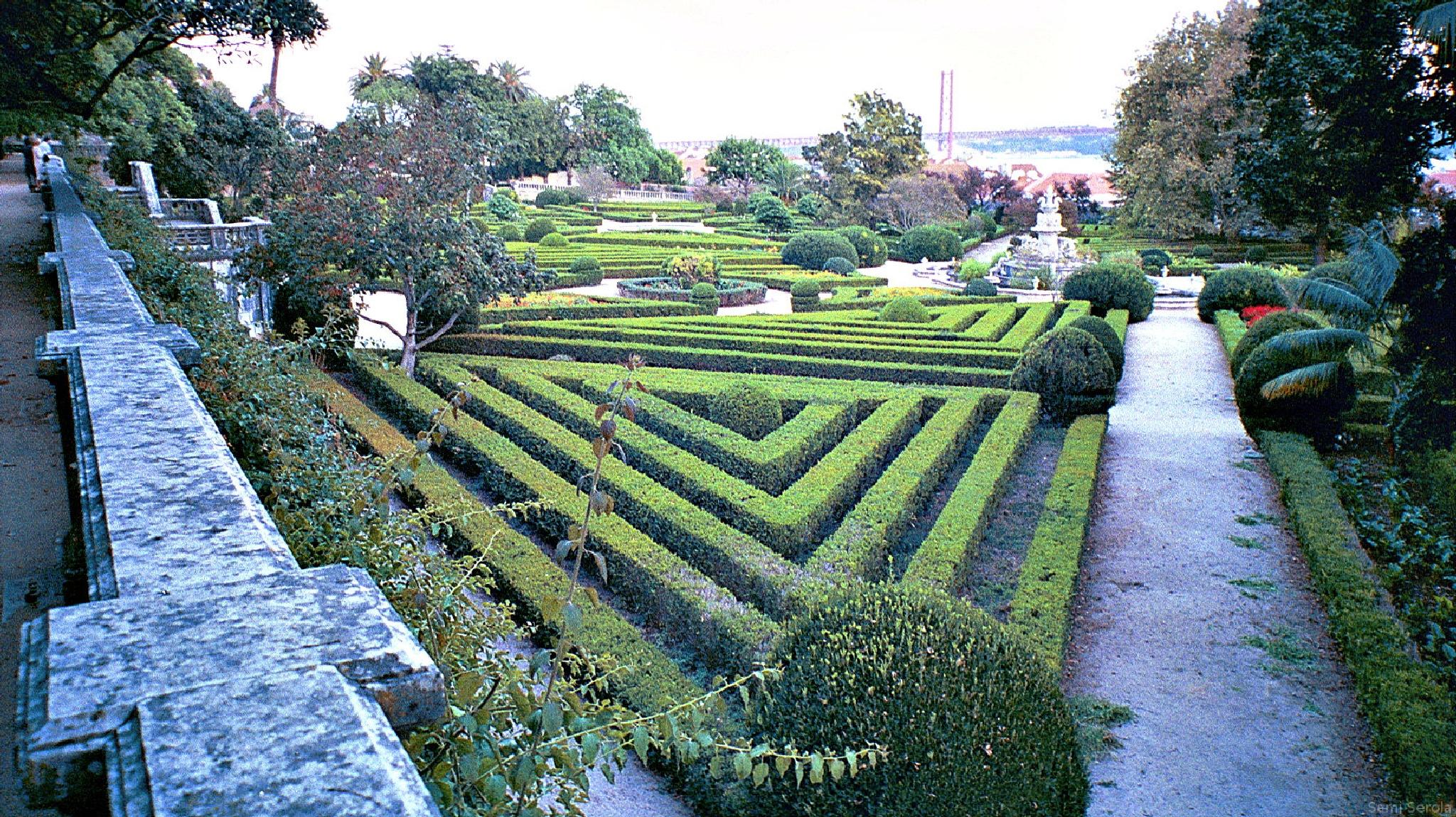 Jardim Botânico da Ajuda, Lisboa 2002 by Sami Serola