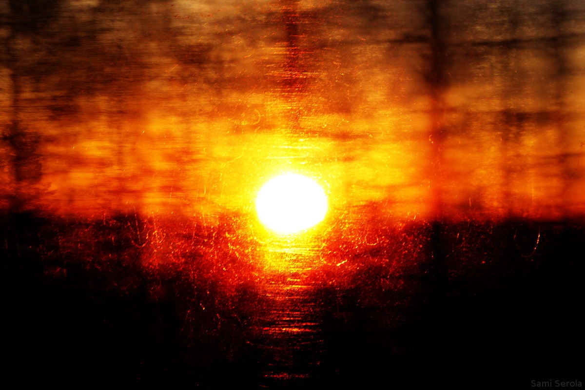 Fat old sun by Sami Serola