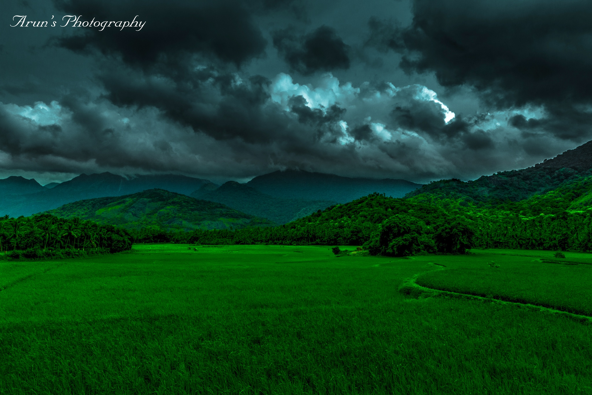 Evening Time @ Kutralam. INDIA . by Arun Kumar