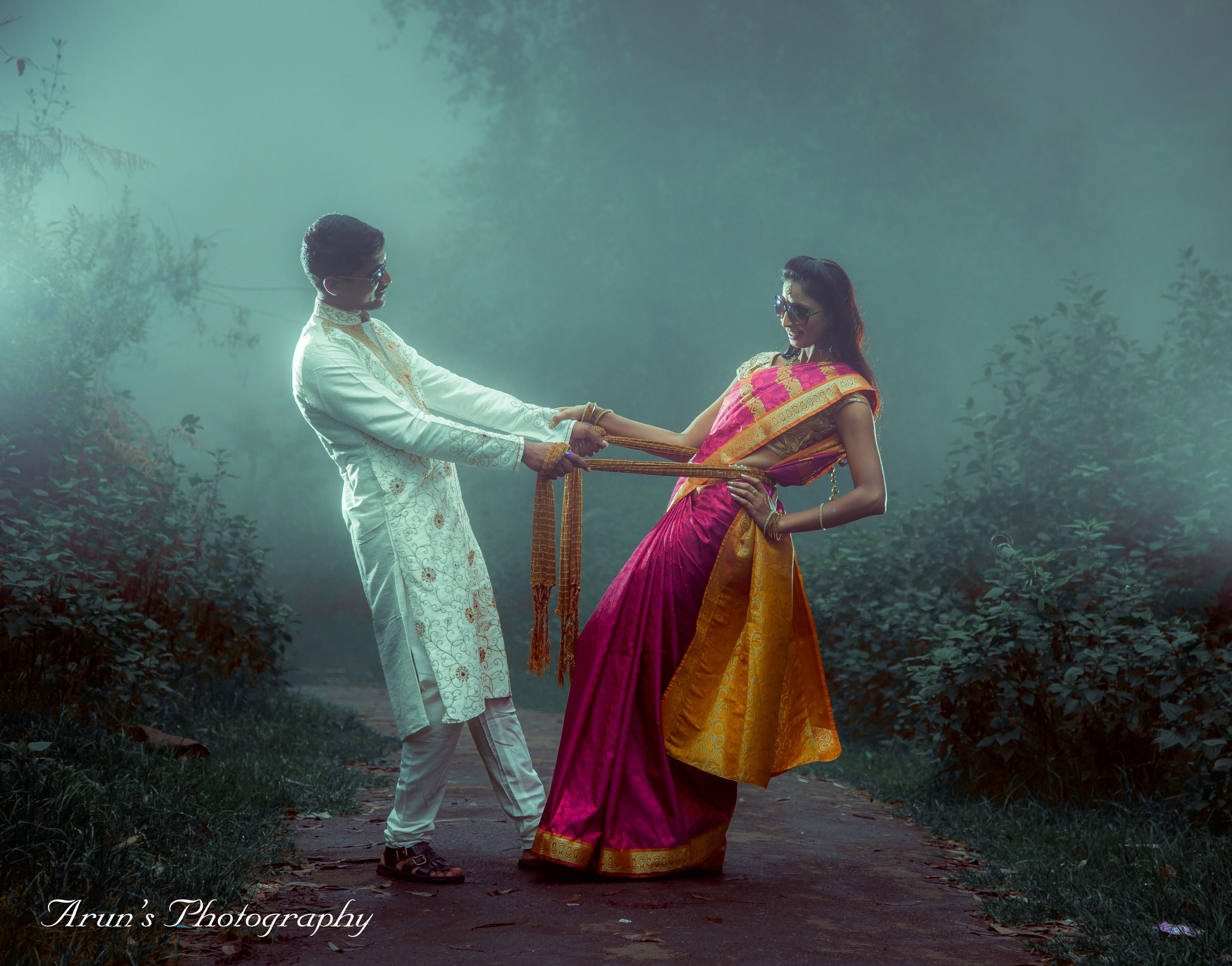 #Outdoor #couple shoot #. #wonderful climate kodaikanal. INDIA by Arun Kumar