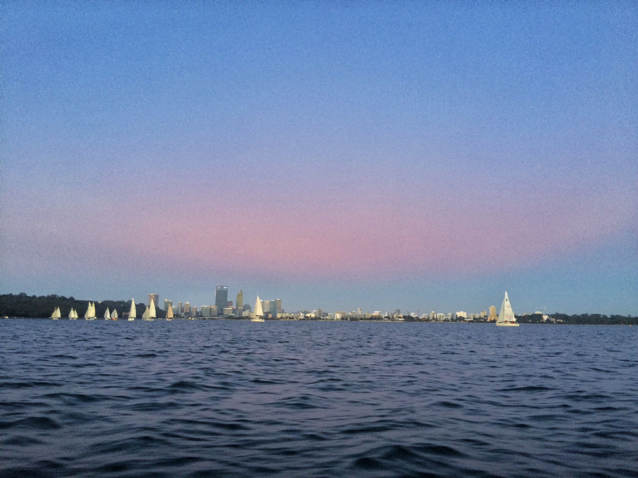 Twilight Sailing by Patrick Hayes