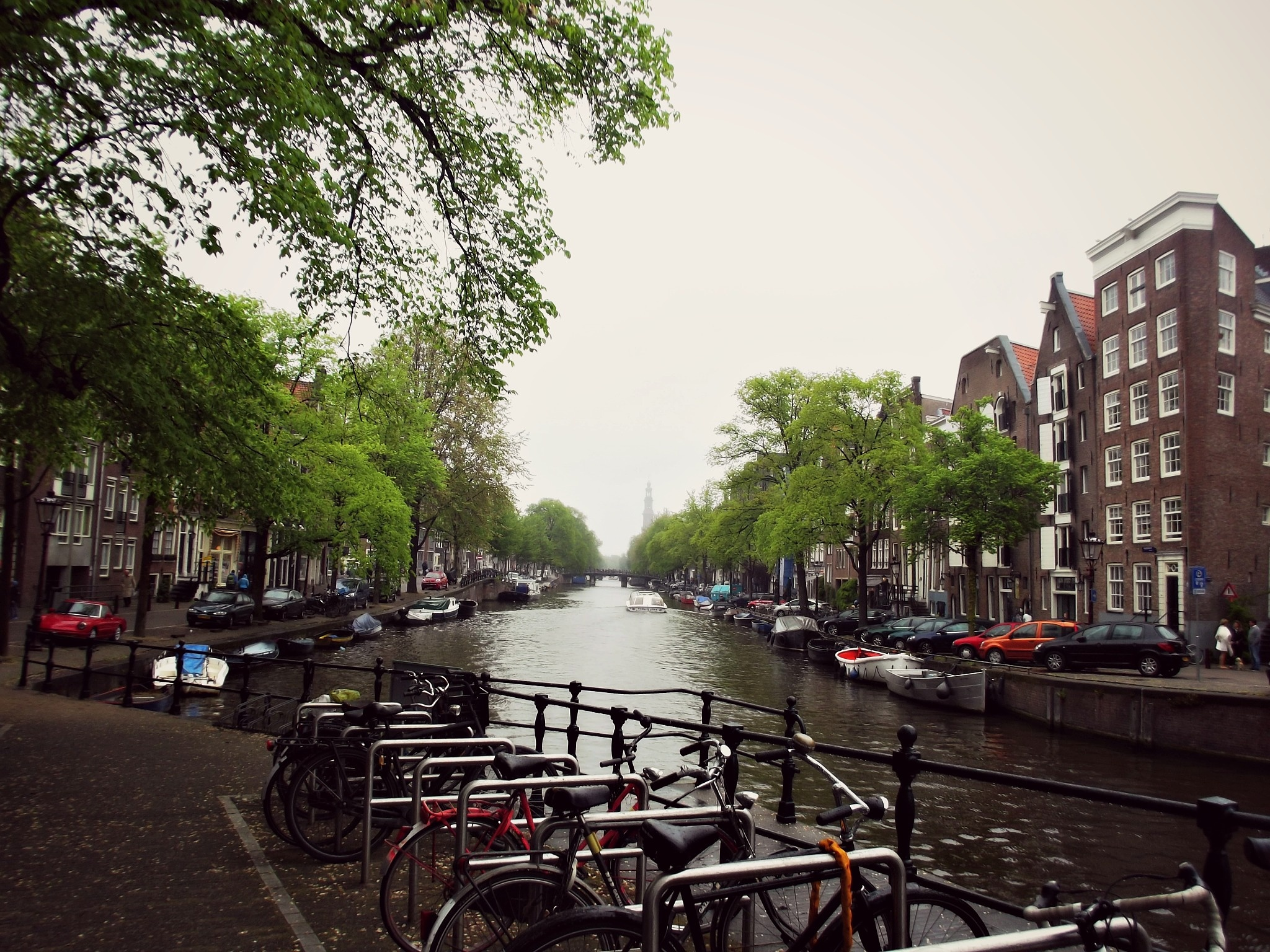 The Water-ways of Amsterdam by Melissa Berro