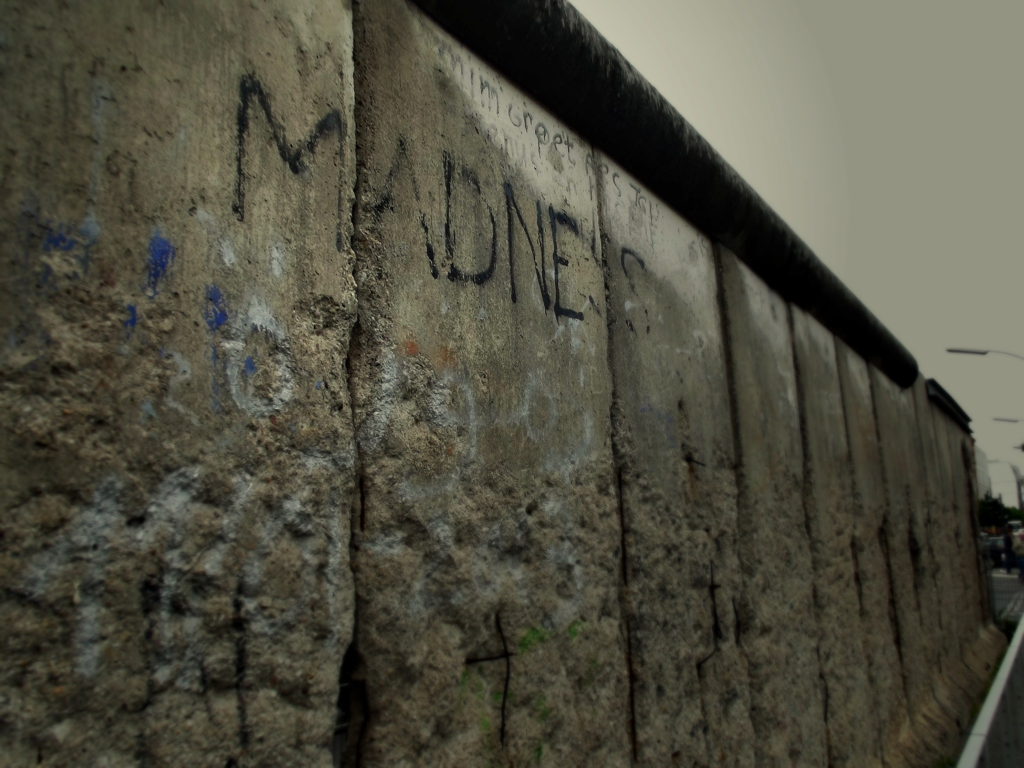 Part of the Berlin Wall by Melissa Berro