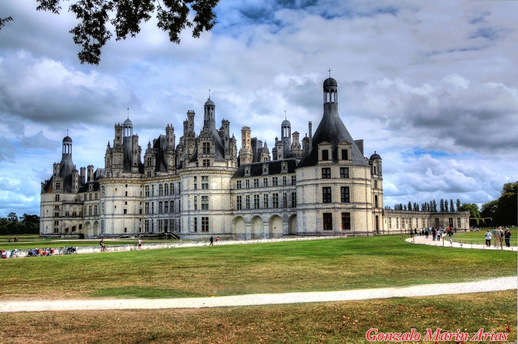 Château de Chambord, France. by gonzalomarinarias7